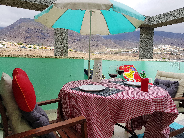 Appartement de vacances Wohnung mit einem Schlafzimmer in Candelaria mit toller Aussicht auf die Berge, Pool, möbl (2208287), El Socorro, Ténérife, Iles Canaries, Espagne, image 1