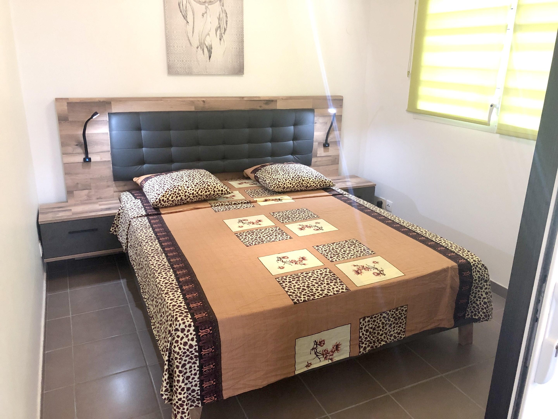 Wohnung mit einem Schlafzimmer in Le Moule mit her Ferienwohnung in Guadeloupe