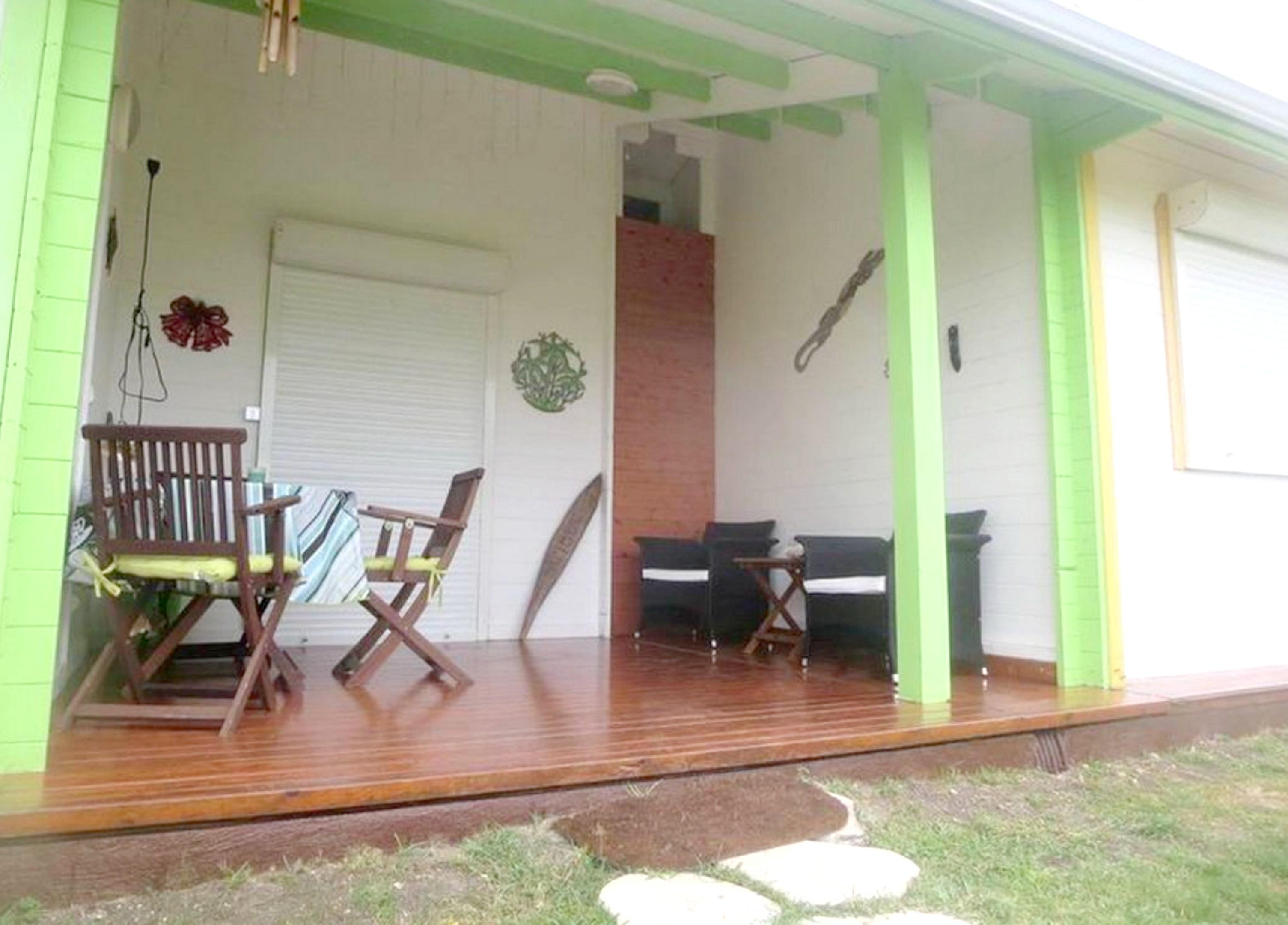 Bungalow mit einem Schlafzimmer in Saint-Fran&cced Bungalow in Guadeloupe