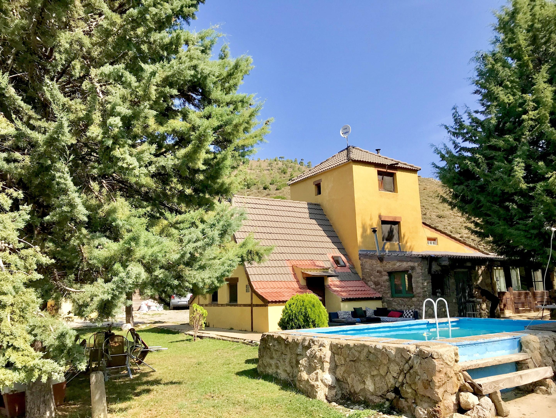 Maison de vacances Hütte mit 4 Schlafzimmern in Camarena de la Sierra mit toller Aussicht auf die Berge, priv (2474258), Camarena de la Sierra, Teruel, Aragon, Espagne, image 6