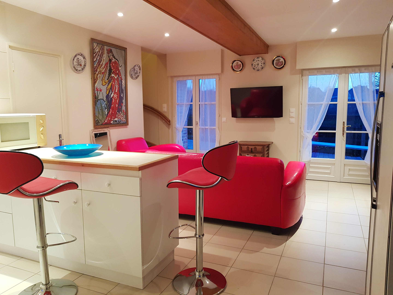 Ferienhaus Haus mit 2 Schlafzimmern in Gacé mit eingezäuntem Garten und W-LAN - 80 km vom Strand entf (2604912), Gacé, Orne, Normandie, Frankreich, Bild 3