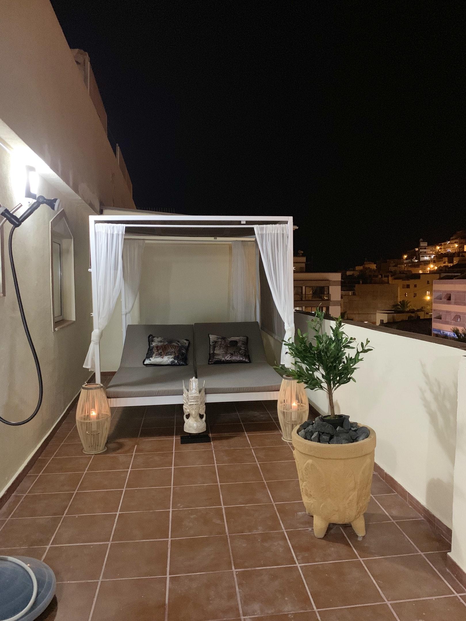 Appartement de vacances Wohnung mit 2 Schlafzimmern in Los Cristianos mit toller Aussicht auf die Berge, eingezäun (2202481), Los Cristianos, Ténérife, Iles Canaries, Espagne, image 20