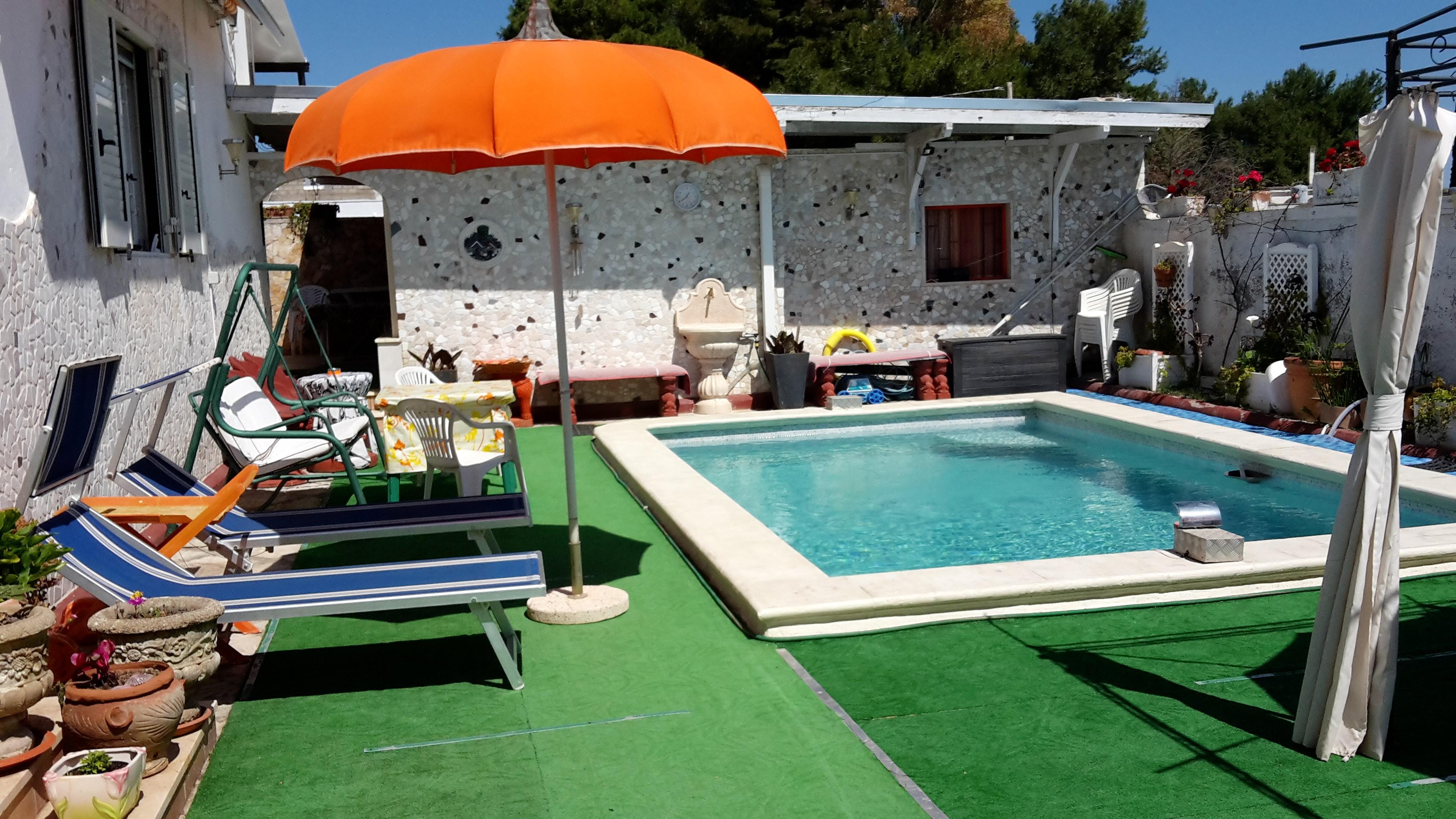 Ferienhaus Haus mit 2 Schlafzimmern in Porto Cesareo (Lecce) mit Pool, möbliertem Garten und W-LAN (2201032), Porto Cesareo, Lecce, Apulien, Italien, Bild 1
