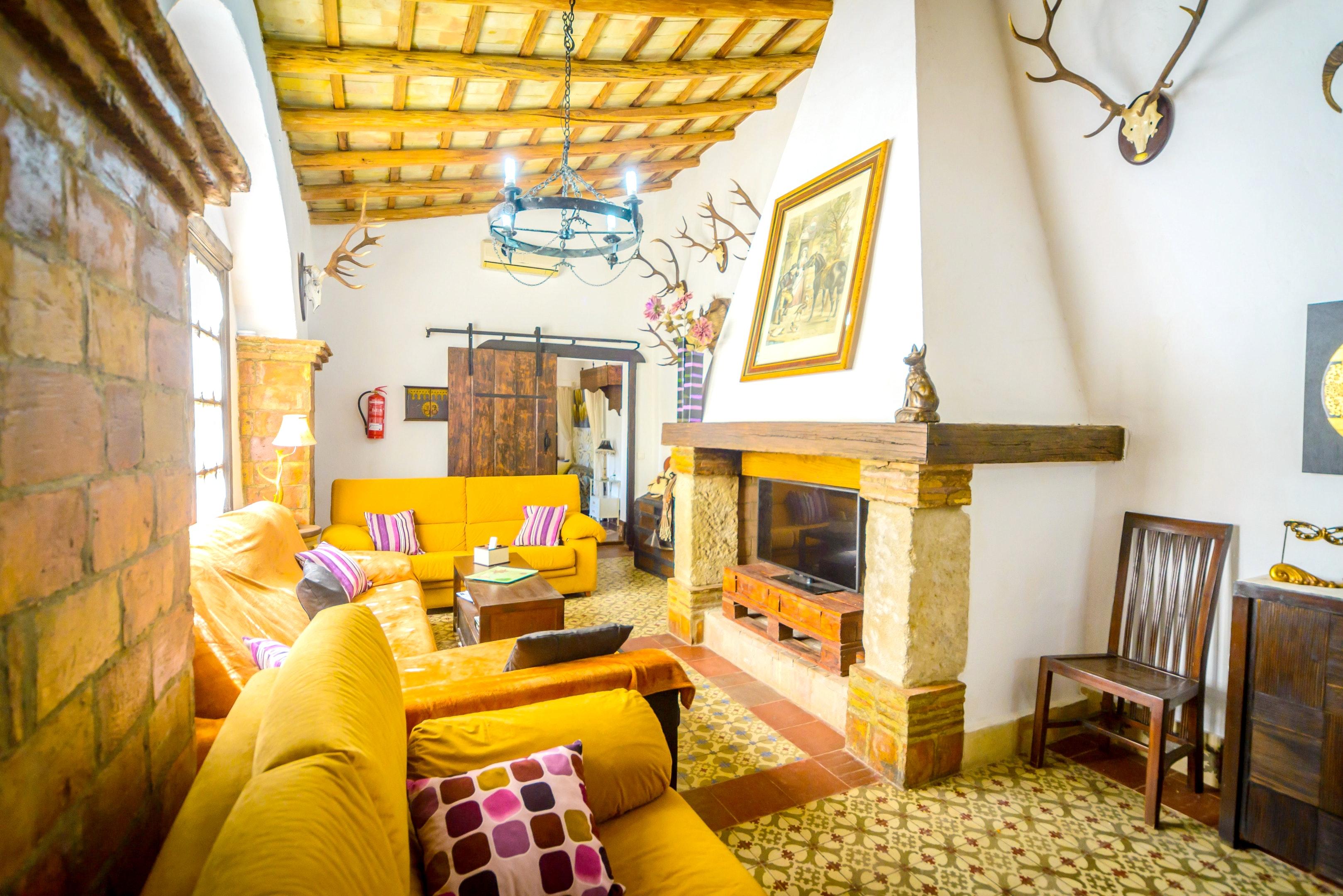 Ferienhaus Villa mit 3 Schlafzimmern in Peñaflor mit privatem Pool, eingezäuntem Garten und W-LAN (2208249), Peñaflor, Sevilla, Andalusien, Spanien, Bild 8