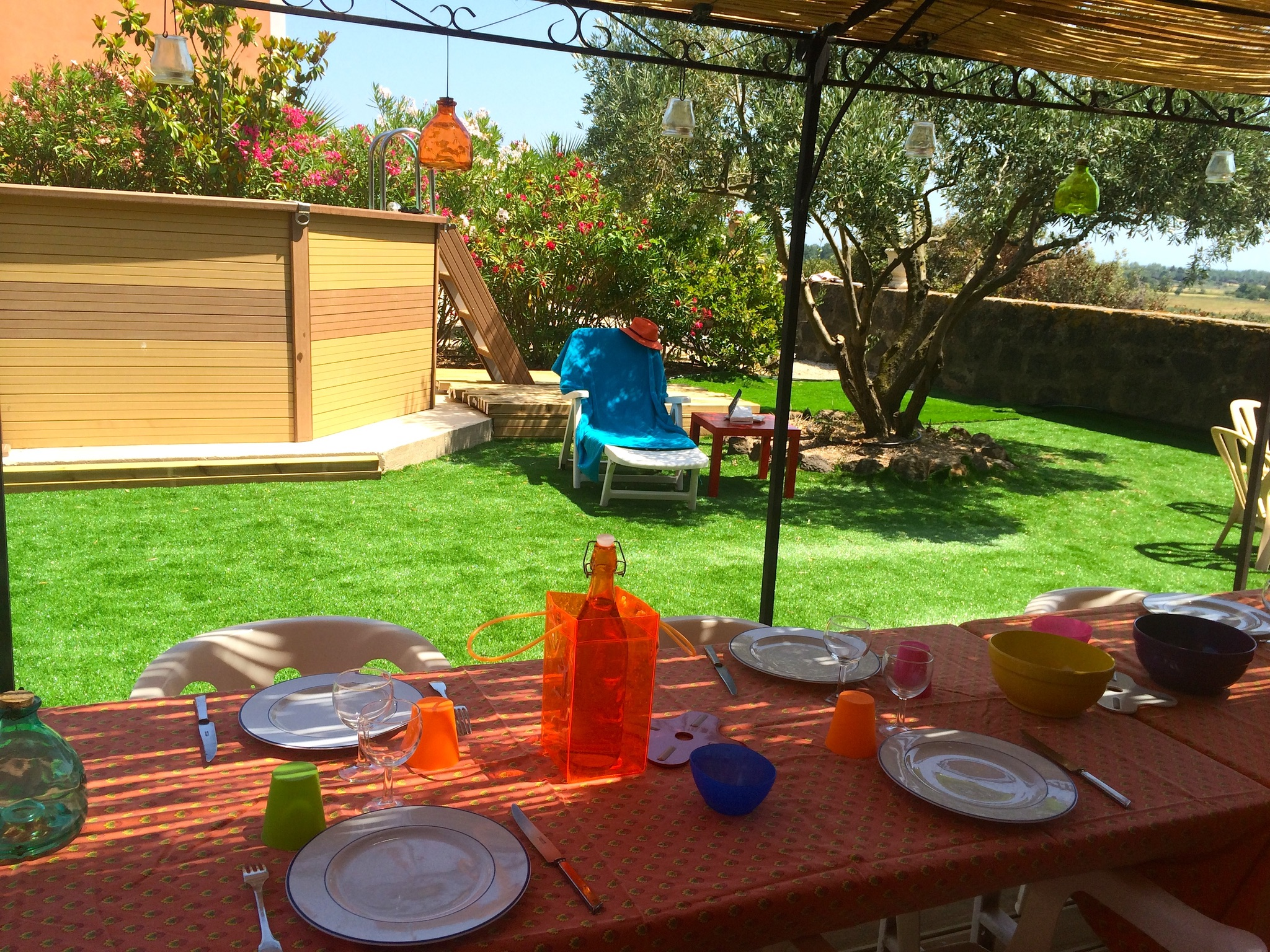 Ferienhaus Bauernhaus in der Languedoc-Roussillon mit Pool und üppigem Garten (2201002), Portiragnes, Mittelmeerküste Hérault, Languedoc-Roussillon, Frankreich, Bild 4