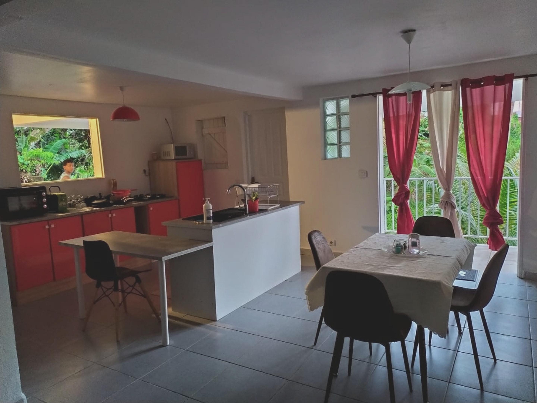 Haus mit 2 Schlafzimmern in Sainte-Rose mit toller Ferienhaus in Guadeloupe