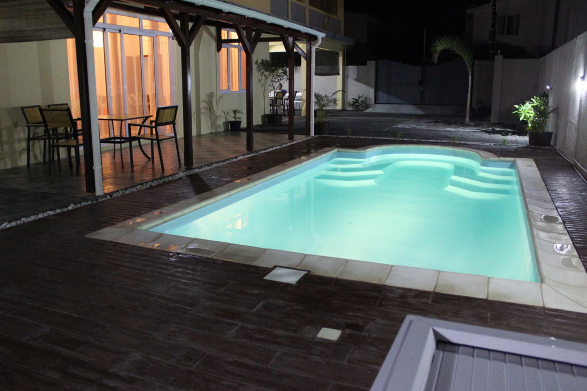 Haus mit 3 Zimmern in Pointe aux cannoniers mit pr Villa in Afrika