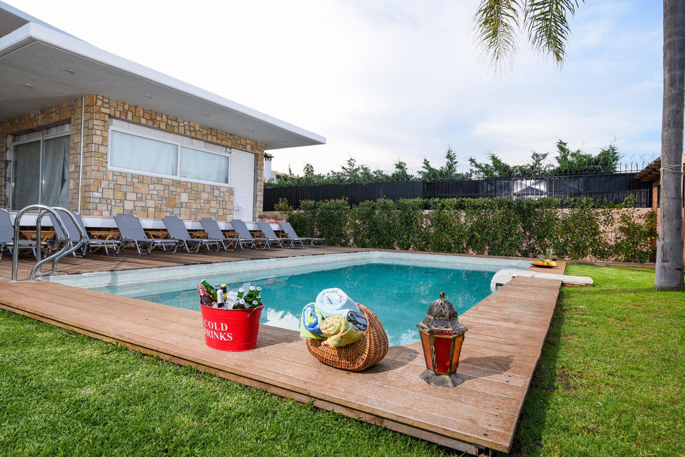 Holiday house Villa mit 5 Schlafzimmern in Kitsi mit privatem Pool, eingezäuntem Garten und W-LAN (2339398), Koropion, , Attica, Greece, picture 40