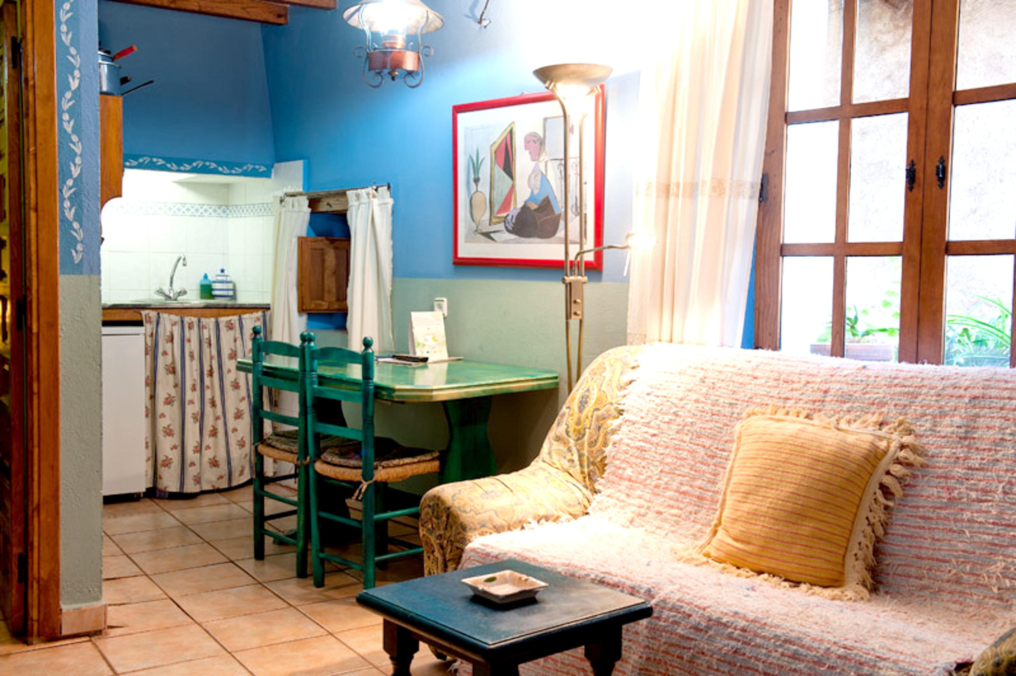 Wohnung mit 2 Schlafzimmern in Robledillo de Gata  Ferienwohnung in der Extremadura