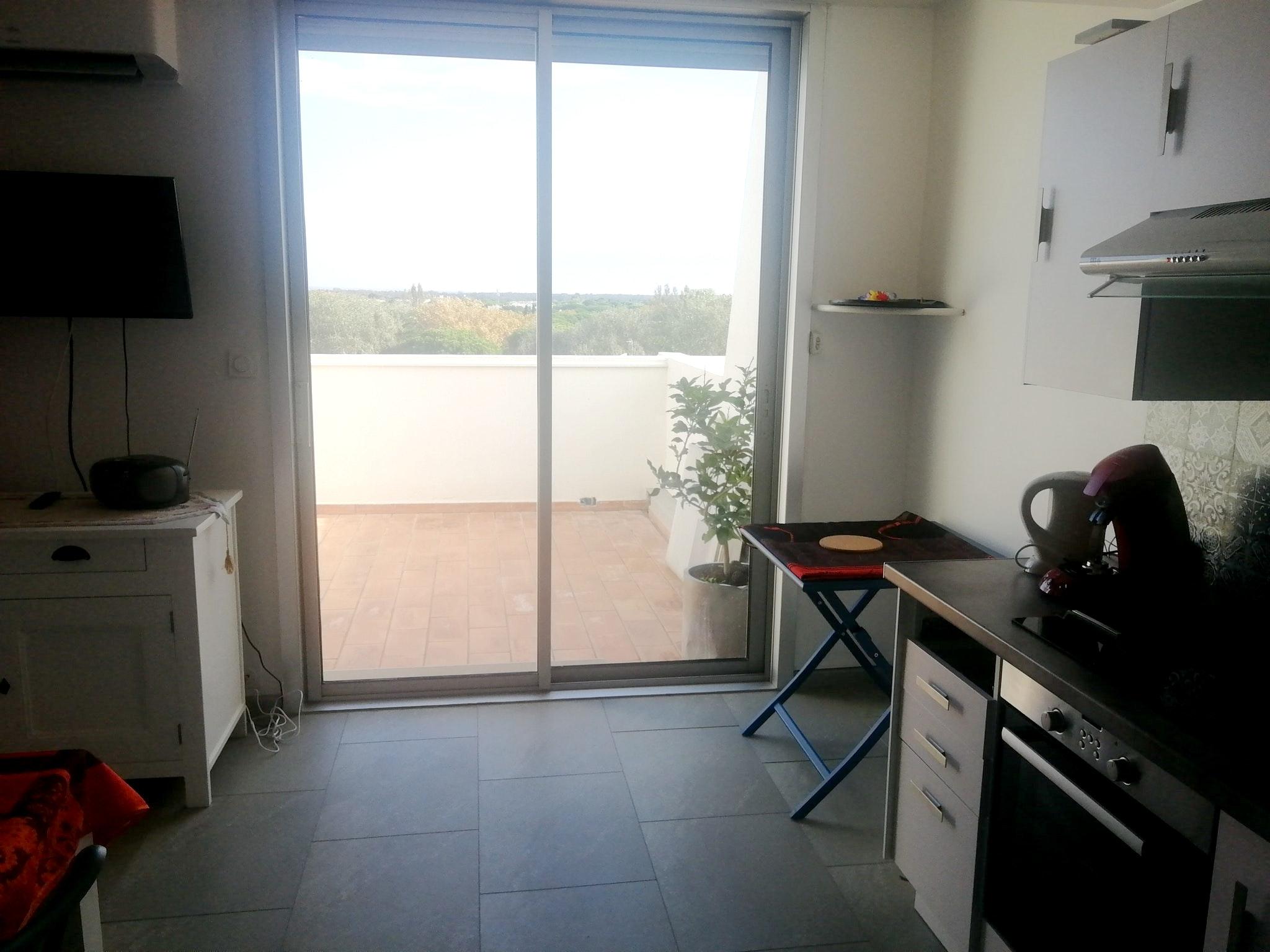 Holiday apartment Wohnung mit 2 Schlafzimmern in La Grande-Motte mit herrlichem Meerblick und möblierter Ter (2535444), La Grande Motte, Mediterranean coast Hérault, Languedoc-Roussillon, France, picture 7