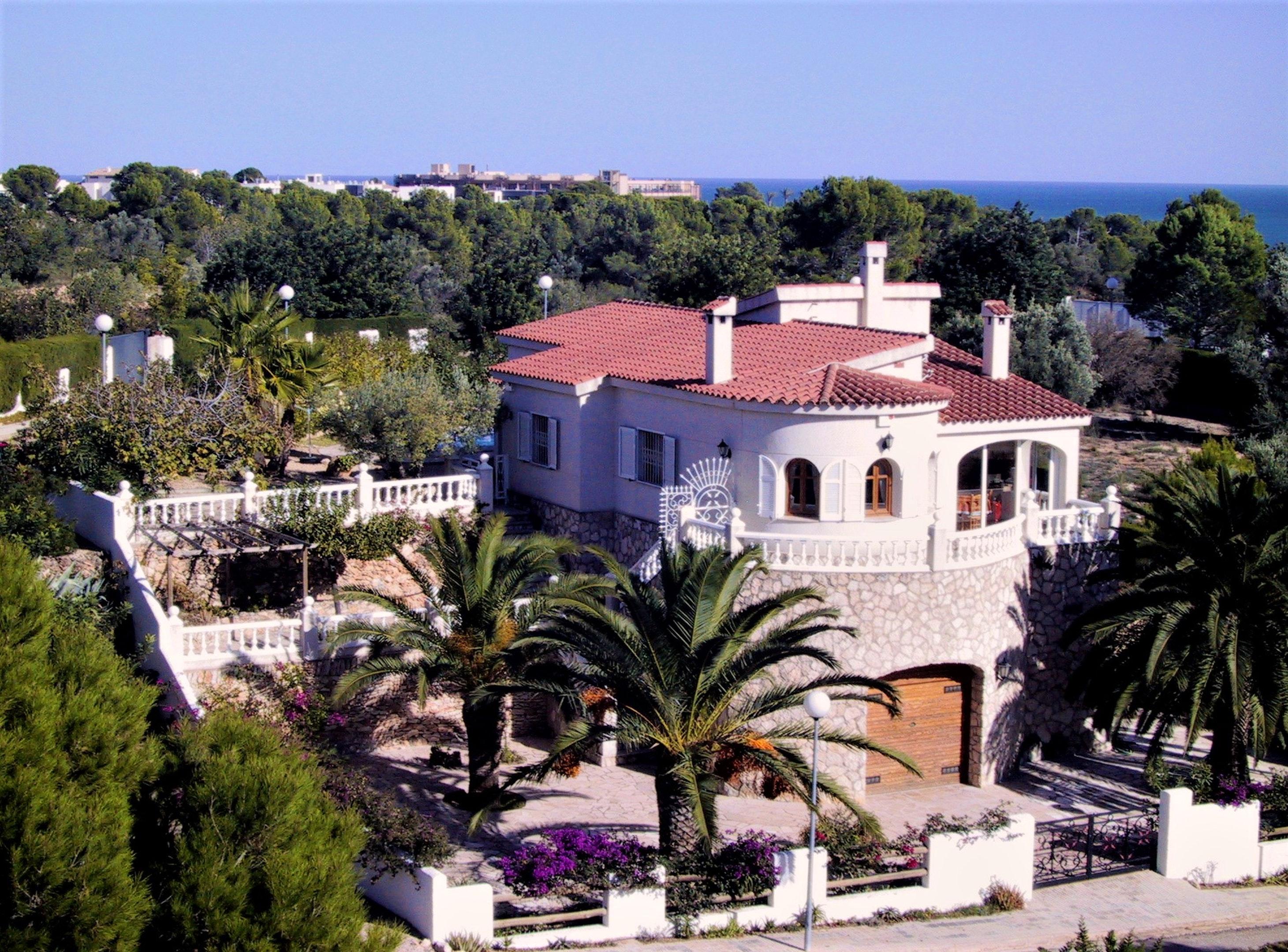 Ferienhaus Villa mit 3 Schlafzimmern in Ampolla mit herrlichem Meerblick, privatem Pool, möbliertem G (2201036), L'Ampolla, Costa Dorada, Katalonien, Spanien, Bild 1