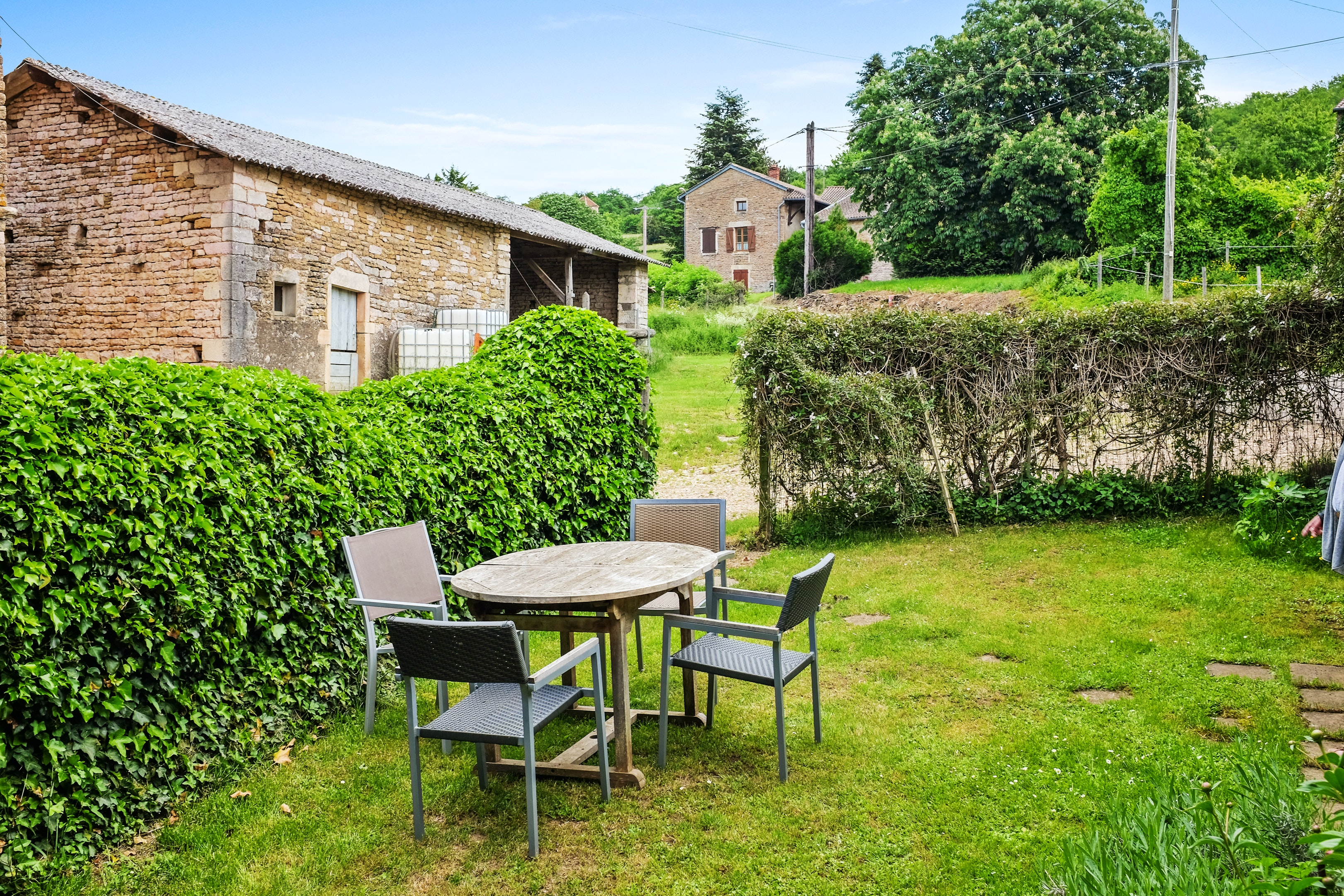 Ferienhaus Haus mit 2 Schlafzimmern in Grevilly mit eingezäuntem Garten (2202565), Grevilly, Saône-et-Loire, Burgund, Frankreich, Bild 17