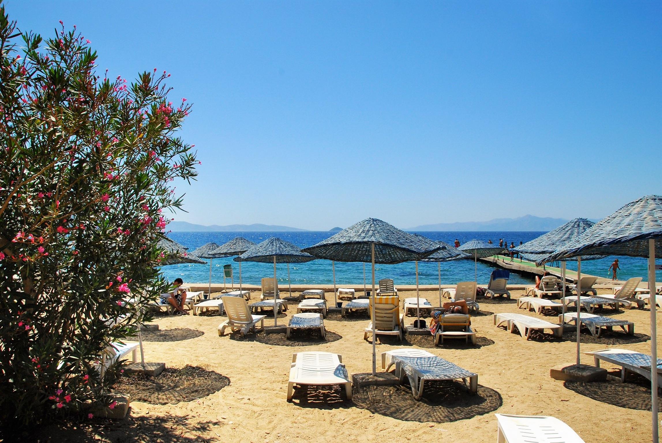 Maison de vacances Moderne türkische Villa mit zwei Pools, herrlicher Aussicht, WLAN und Zugang zu einem Priv (2202326), Turgutreis, , Région Egéenne, Turquie, image 4