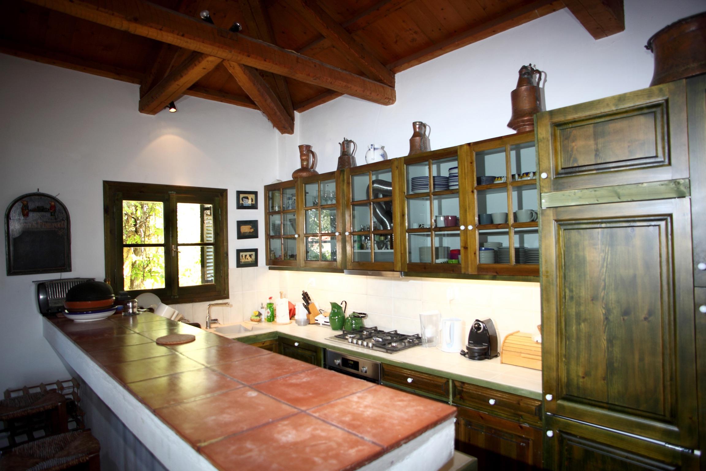 Ferienhaus Villa mit 4 Zimmern in Kosta mit herrlichem Meerblick, privatem Pool, eingezäuntem Garten  (2271451), Kosta (GR), , Peloponnes, Griechenland, Bild 7