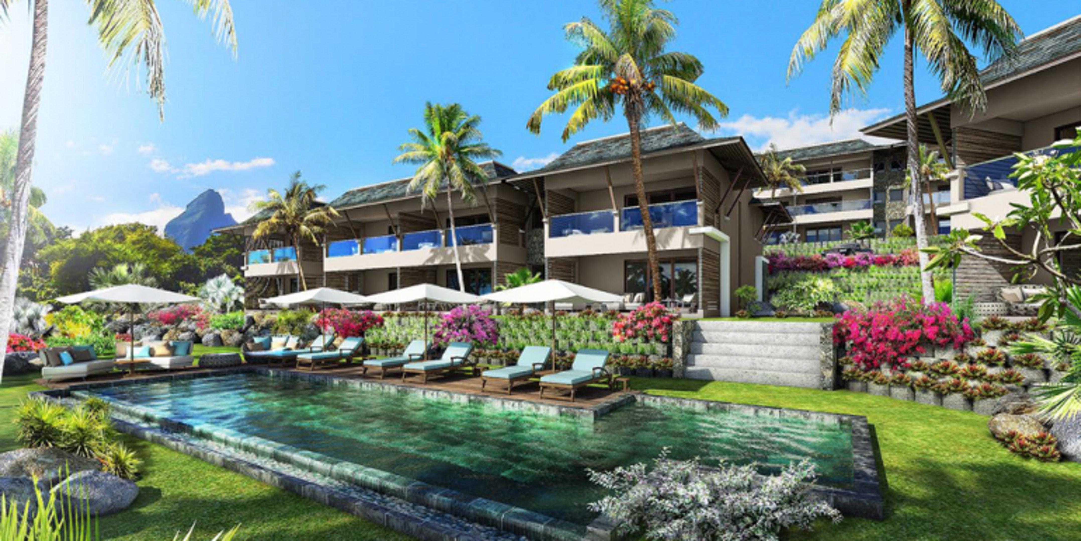 Wohnung mit 3 Schlafzimmern in Tamarin mit herrlic Ferienwohnung in Afrika
