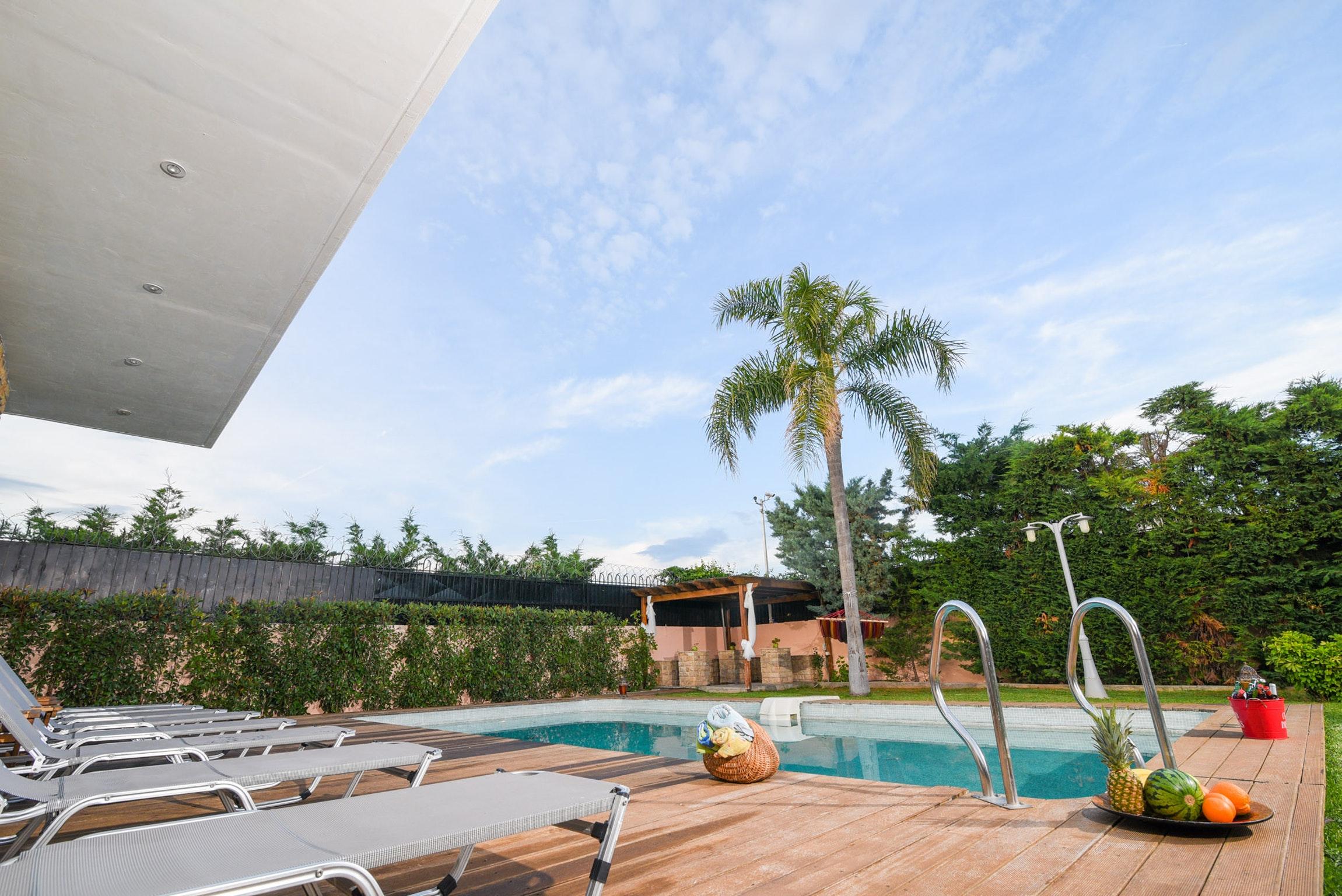 Holiday house Villa mit 5 Schlafzimmern in Kitsi mit privatem Pool, eingezäuntem Garten und W-LAN (2339398), Koropion, , Attica, Greece, picture 43
