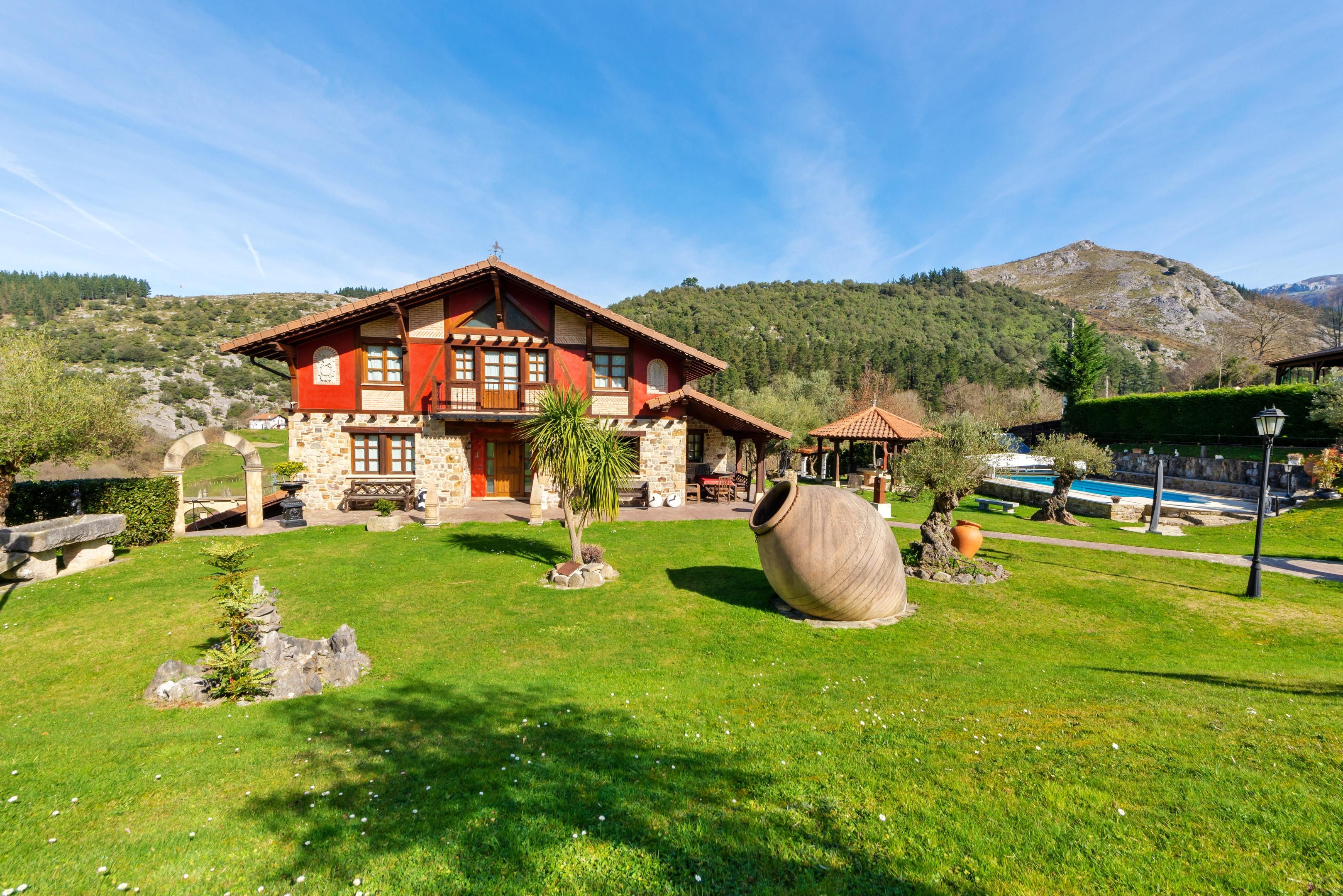 Ferienhaus Villa mit 6 Schlafzimmern in Bizkaia mit privatem Pool und möblierter Terrasse (2519370), Dima, Bizkaia, Baskenland, Spanien, Bild 9