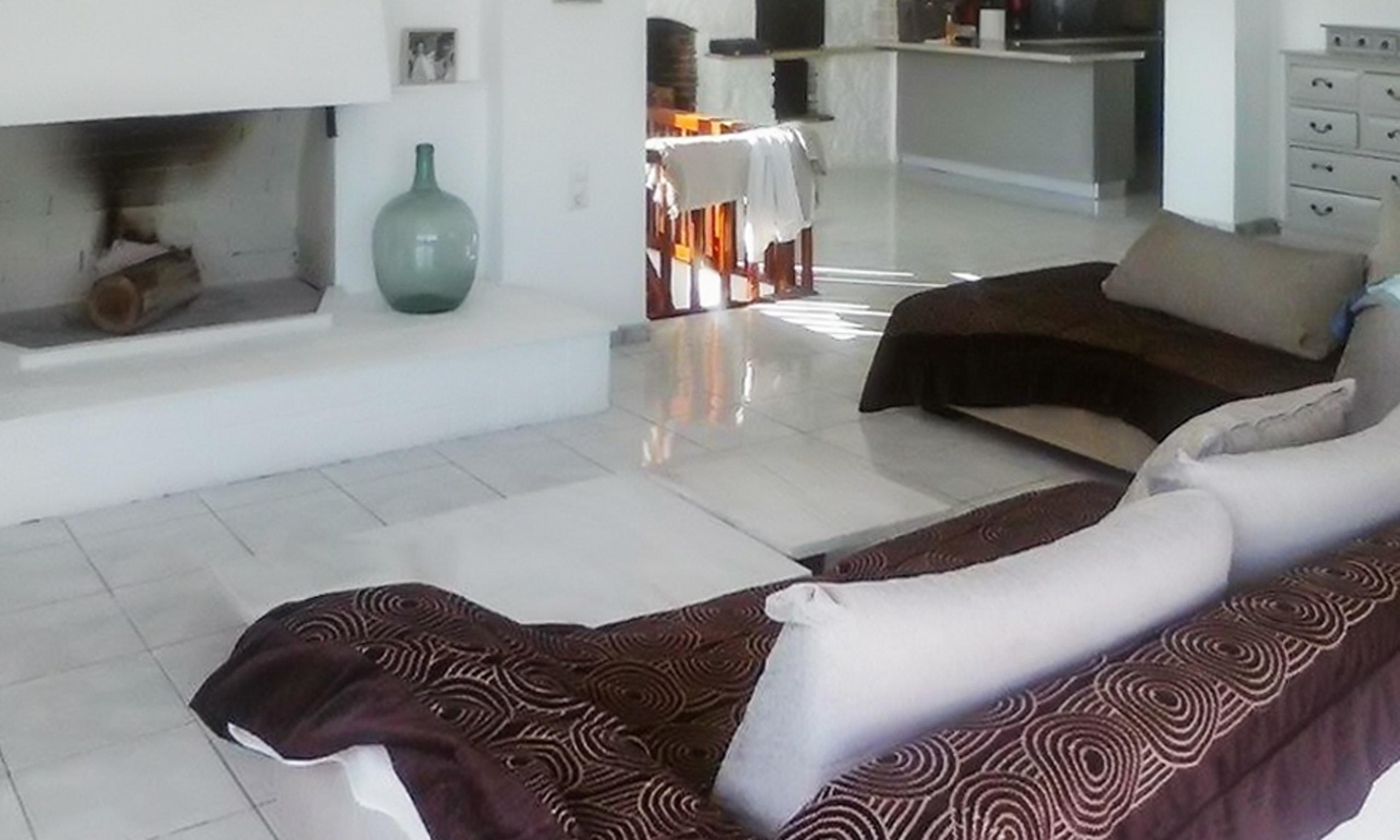 Holiday house Luxuriöse Villa in Megara direkt am Meer, mit wunderschöner Aussicht und möbliertem Balkon (2294781), Megara, , Attica, Greece, picture 5
