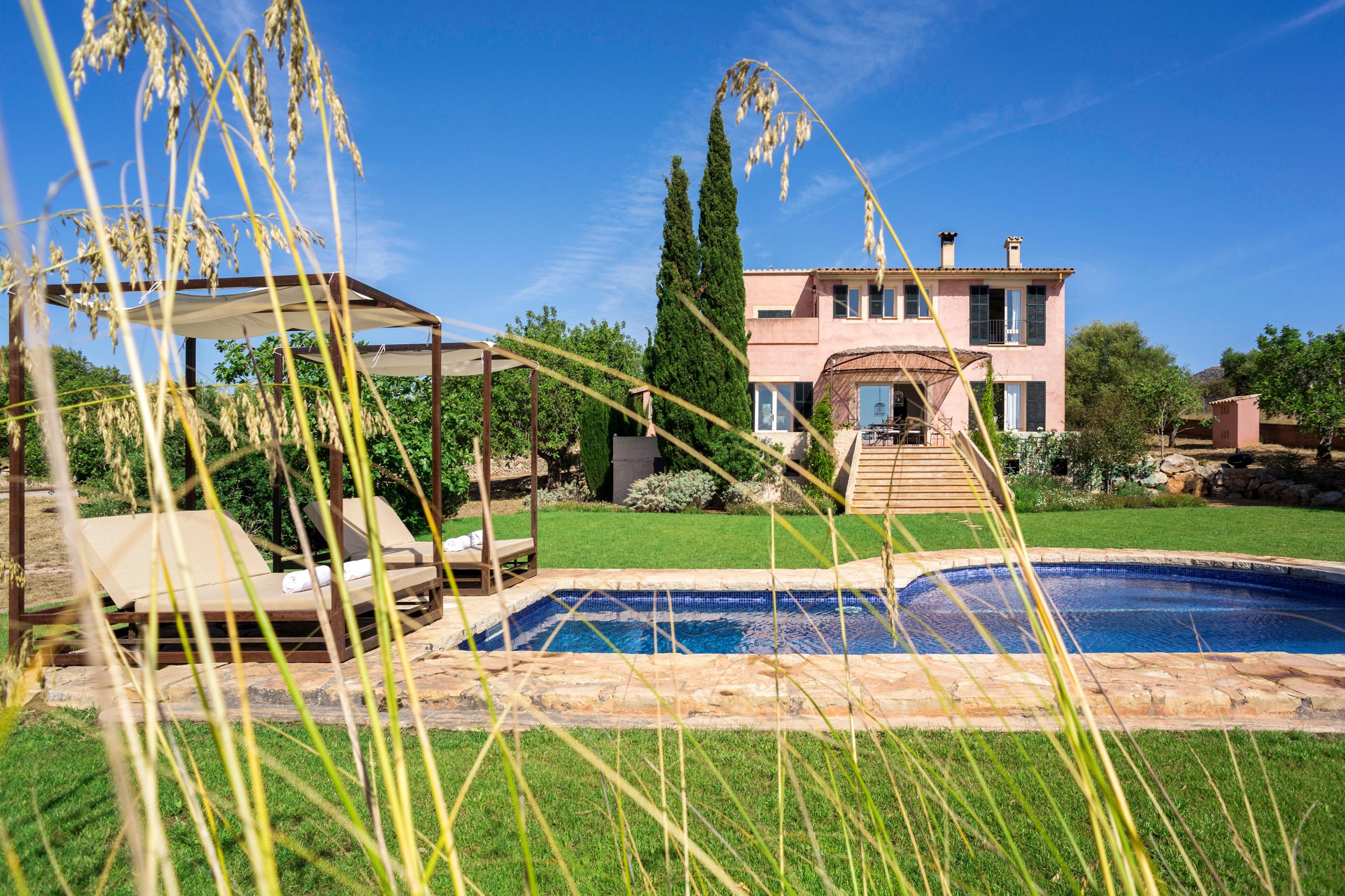 Villa mit 3 Schlafzimmern in Sant Llorenç des Cardassar mit herrlichem Meerblick privatem Pool eingezäuntem Garten 12 km vom Strand entfernt