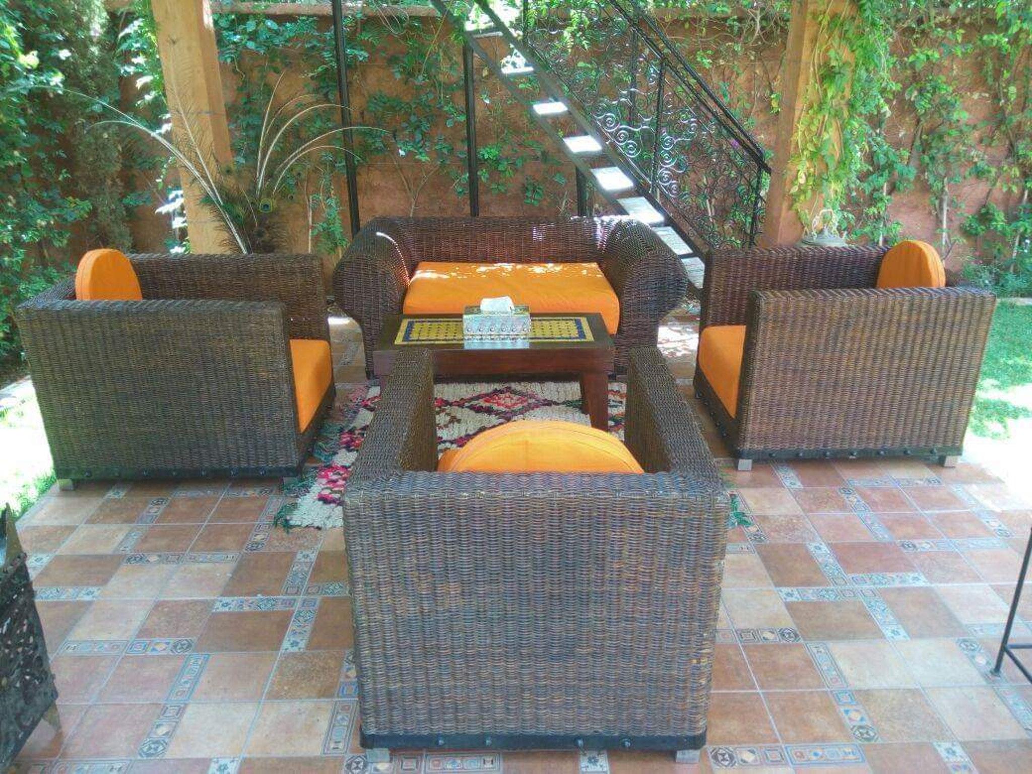 Villa mit 3 Schlafzimmern in Aghmat mit toller Aus Villa in Afrika