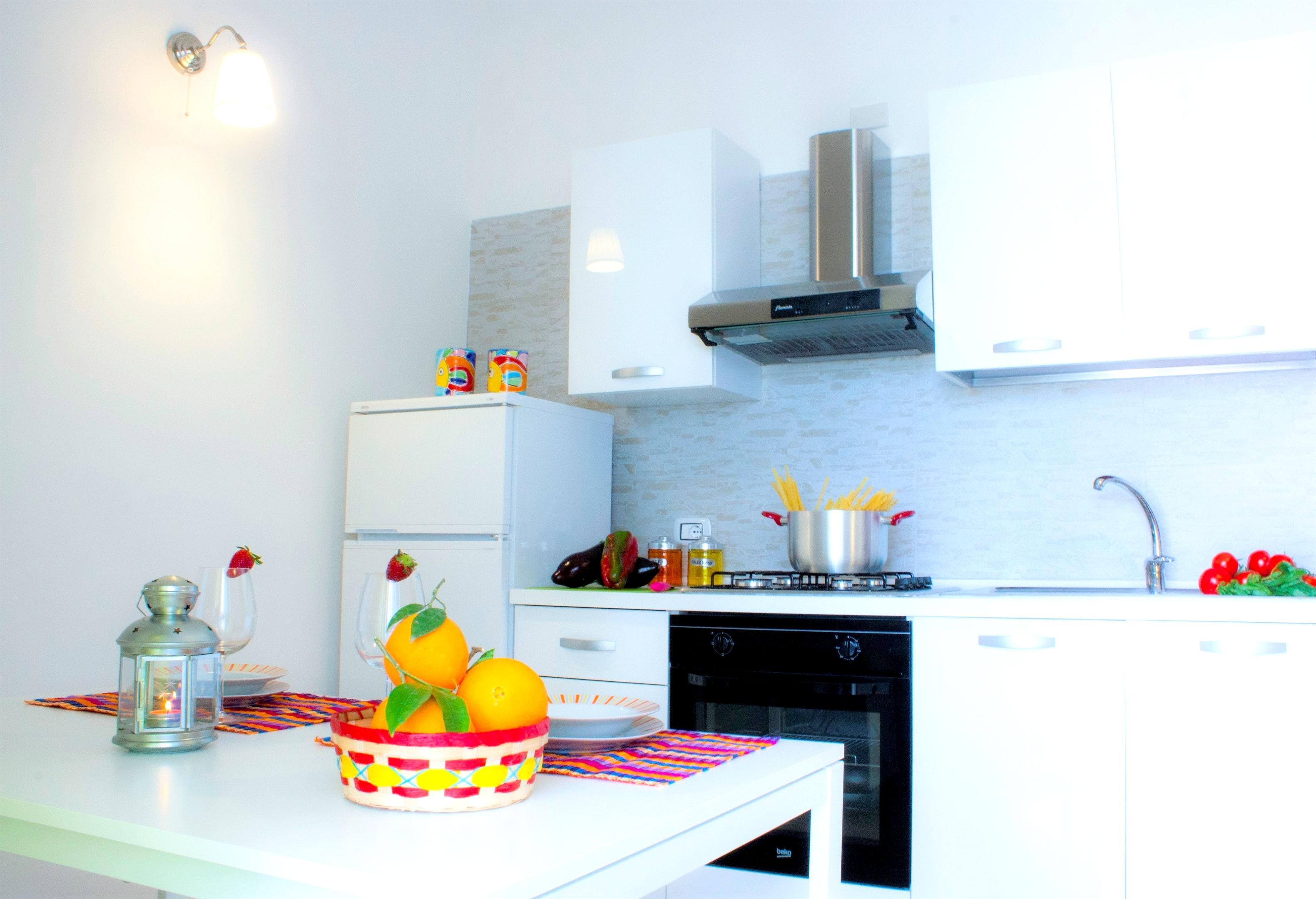 Holiday apartment Wohnung mit 2 Schlafzimmern in Balestrate mit herrlichem Meerblick, möblierter Terrasse un (2201472), Balestrate, Palermo, Sicily, Italy, picture 7