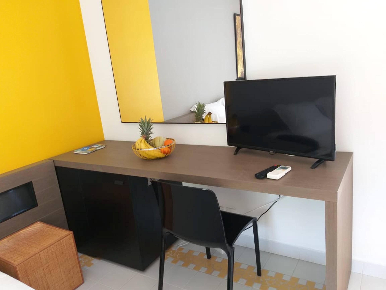 Studio in Saint François mit Pool, möb Ferienwohnung in Guadeloupe