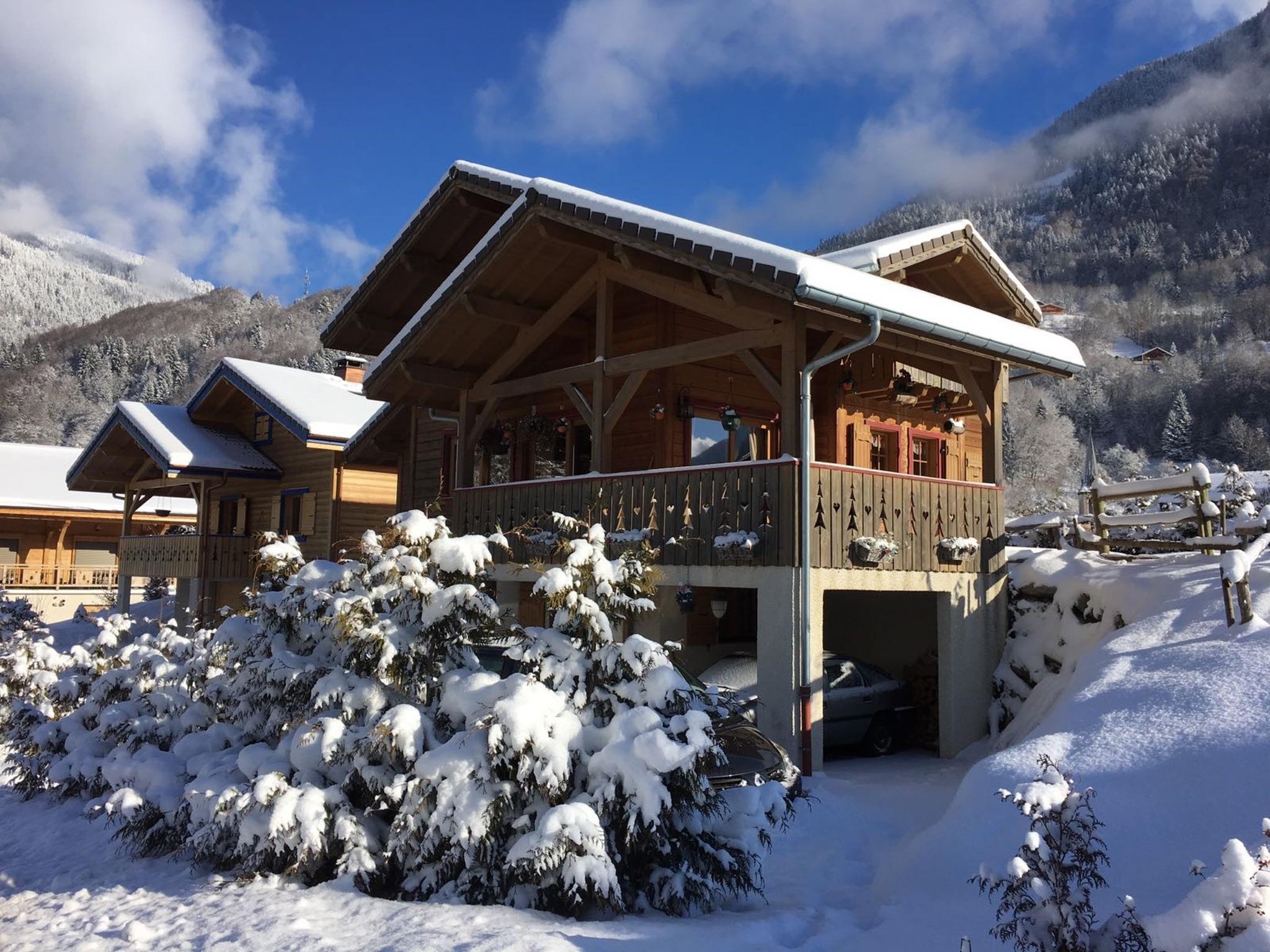 Chalet Sanamanda - mit fünf Schlafzimmern, Bergblick, Terrasse und ...