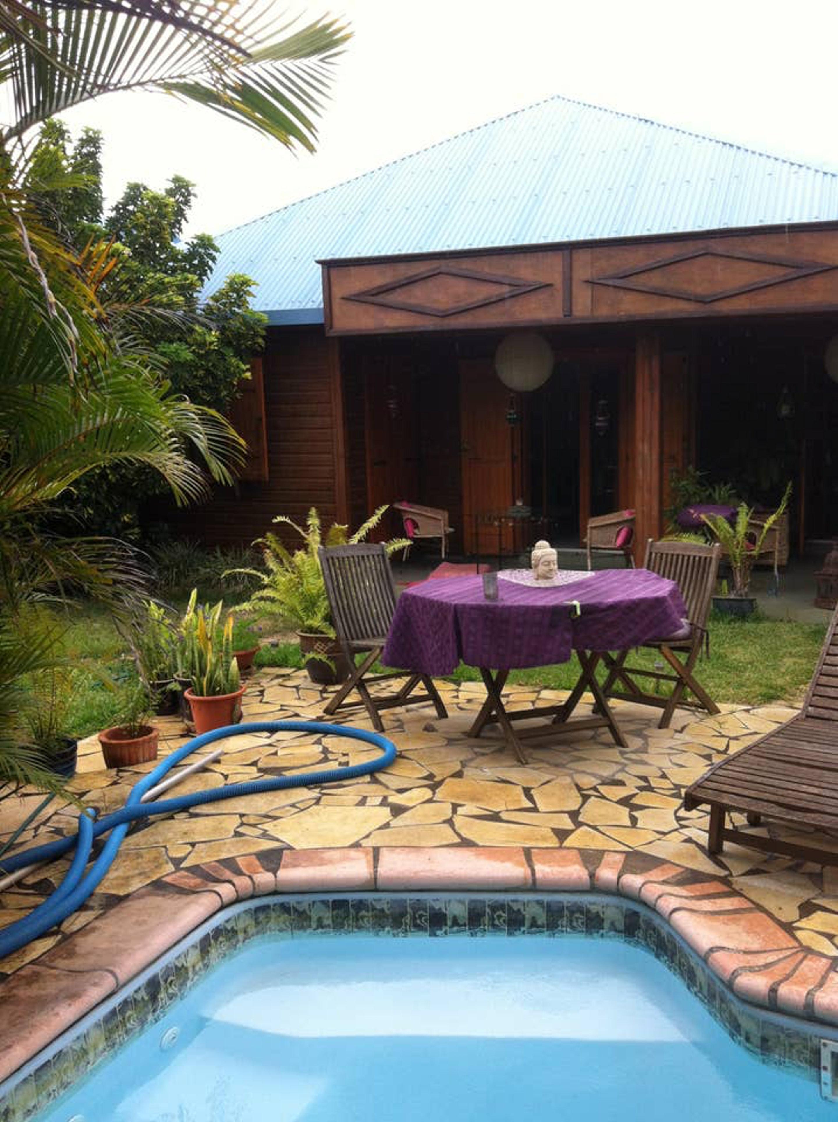 Bungalow mit einem Schlafzimmer in La Riviè Bungalow in Afrika