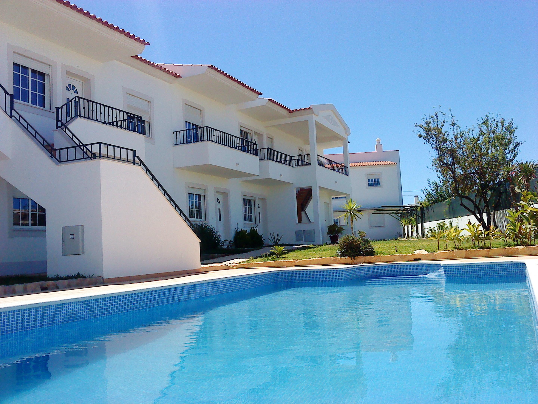 Wohnung mit einem Schlafzimmer in Albufeira mit toller Aussicht auf die Berge Pool und eingezäuntem Garten 2 km vom Strand entfernt
