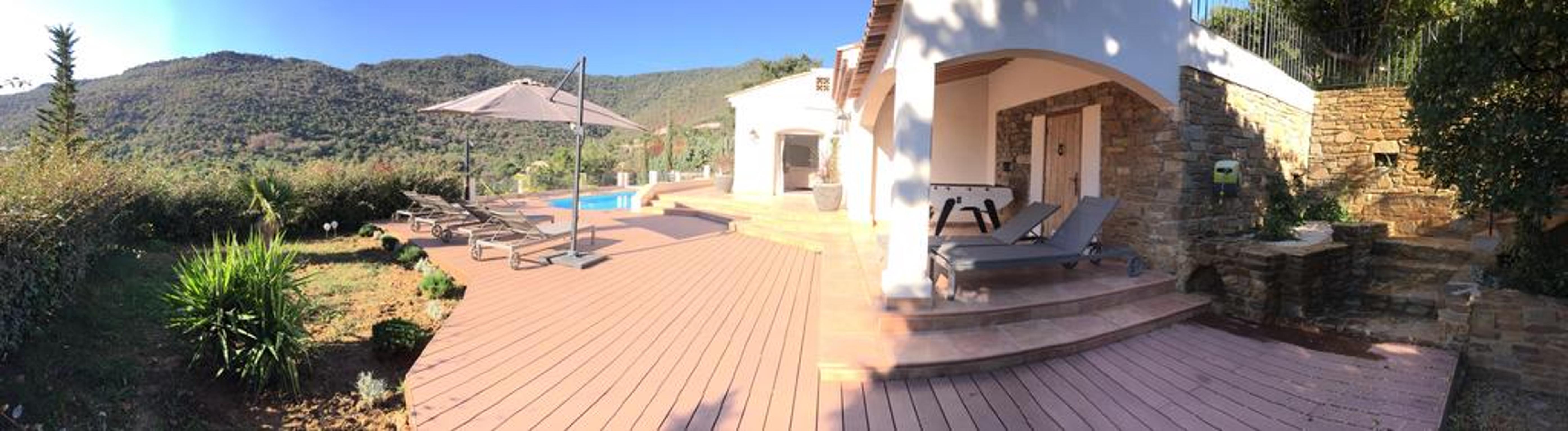 Maison de vacances Villa mit 5 Schlafzimmern in Rayol-Canadel-sur-Mer mit toller Aussicht auf die Berge, priv (2201555), Le Lavandou, Côte d'Azur, Provence - Alpes - Côte d'Azur, France, image 42
