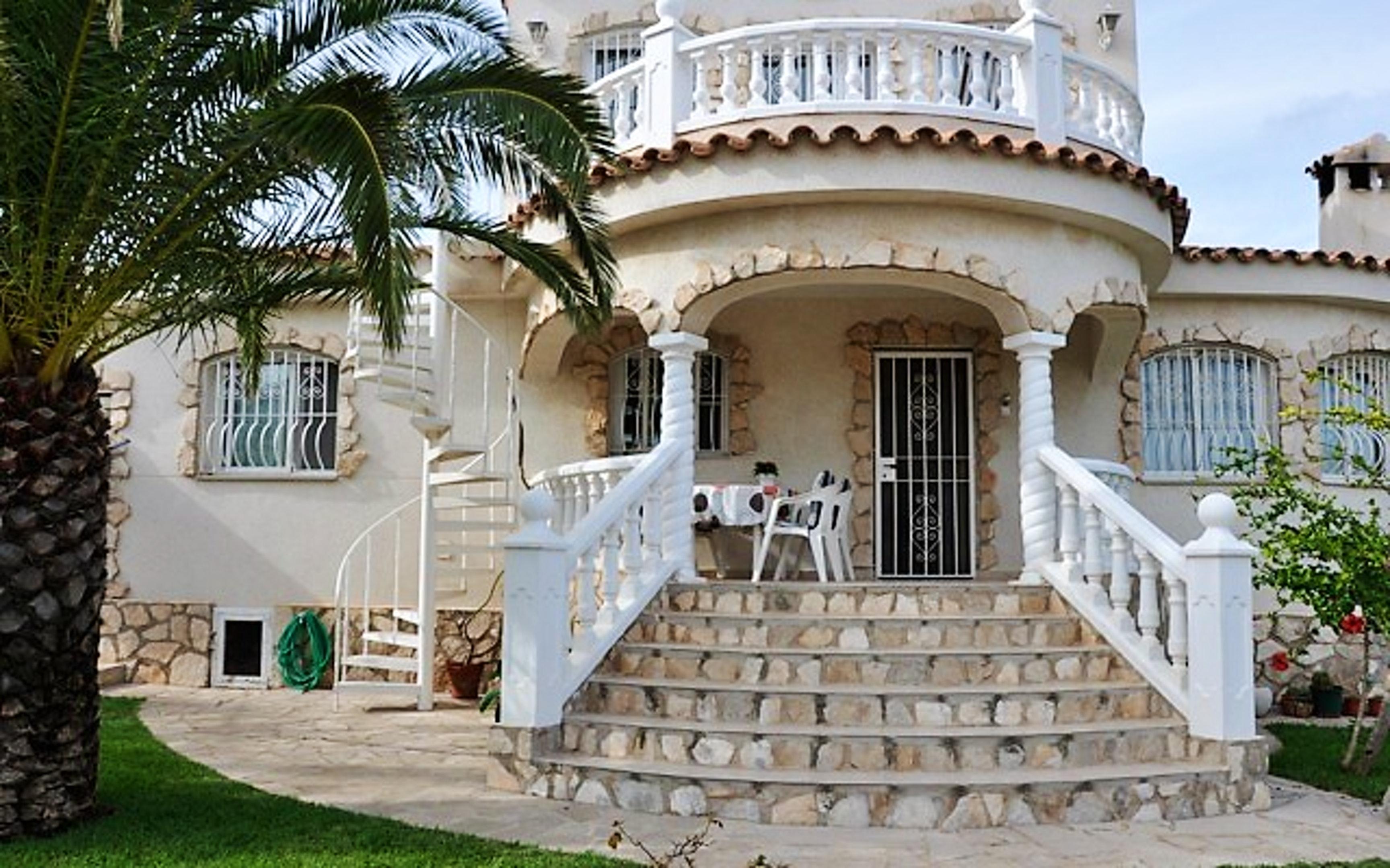 Ferienhaus Villa mit 3 Schlafzimmern in Ampolla mit herrlichem Meerblick, privatem Pool, möbliertem G (2201037), L'Ampolla, Costa Dorada, Katalonien, Spanien, Bild 7