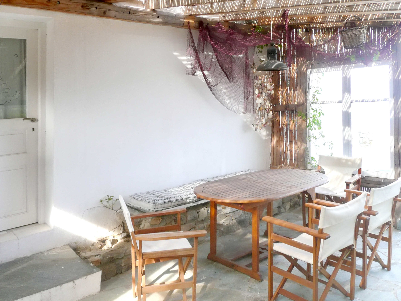 Holiday house Villa mit 3 Schlafzimmern in Paros mit herrlichem Meerblick, Pool und W-LAN - 1 km vom Str (2201537), Paros, Paros, Cyclades, Greece, picture 2