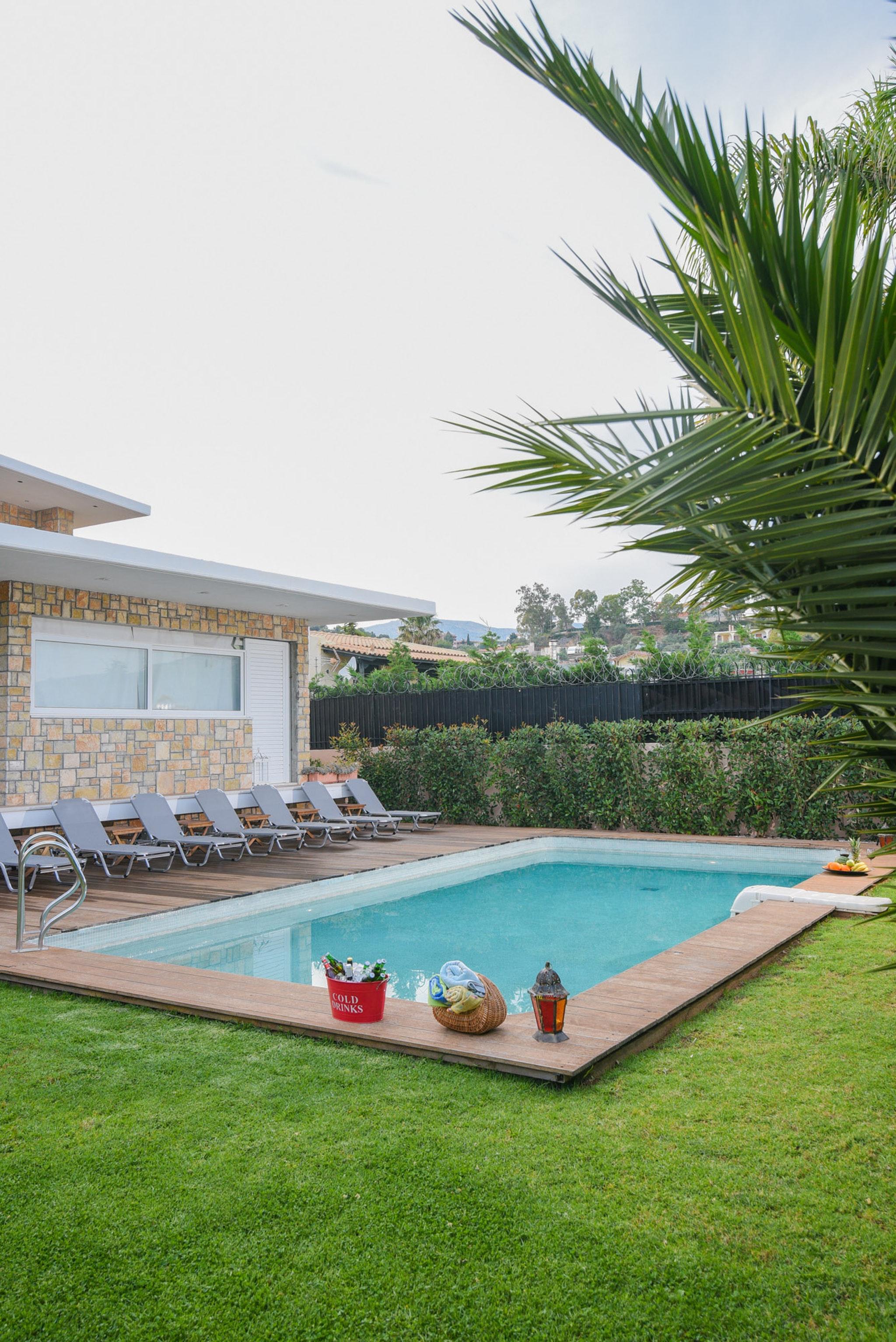 Holiday house Villa mit 5 Schlafzimmern in Kitsi mit privatem Pool, eingezäuntem Garten und W-LAN (2339398), Koropion, , Attica, Greece, picture 2