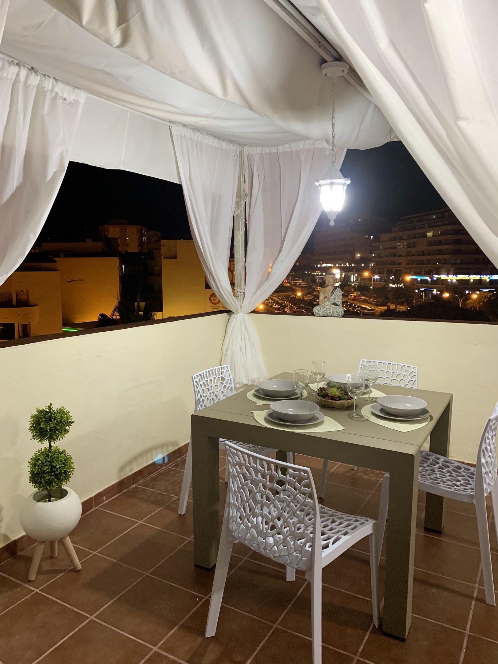 Appartement de vacances Wohnung mit 2 Schlafzimmern in Los Cristianos mit toller Aussicht auf die Berge, eingezäun (2202481), Los Cristianos, Ténérife, Iles Canaries, Espagne, image 22