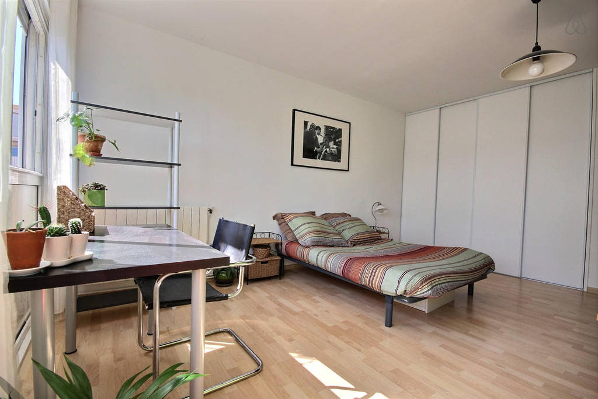 Ferienwohnung Wohnung mit 2 Zimmern in Montpellier mit möblierter Terrasse und W-LAN - 15 km vom Strand  (2351209), Montpellier, Mittelmeerküste Hérault, Languedoc-Roussillon, Frankreich, Bild 7