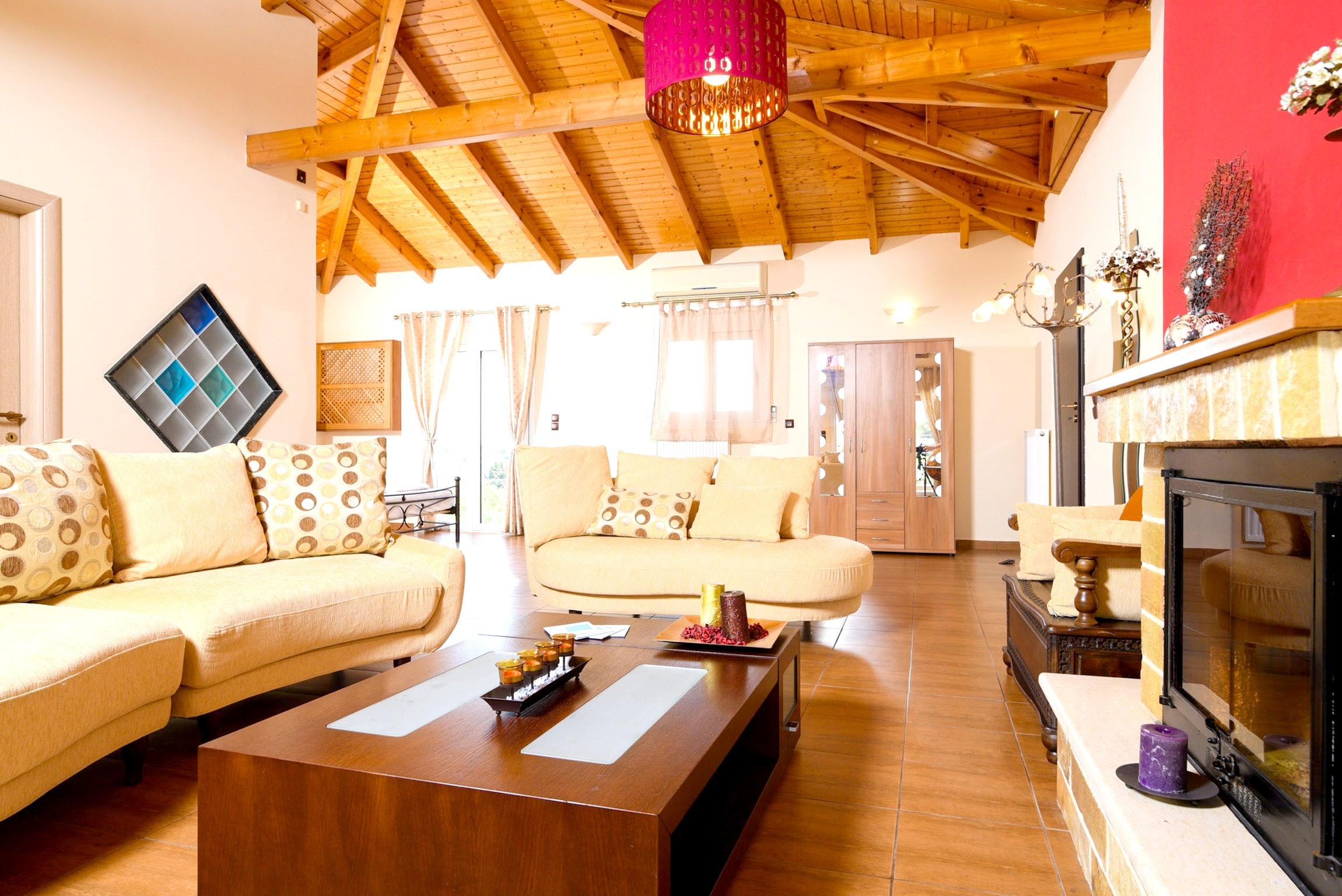 Holiday house Villa mit 5 Schlafzimmern in Kitsi mit privatem Pool, eingezäuntem Garten und W-LAN (2339398), Koropion, , Attica, Greece, picture 29