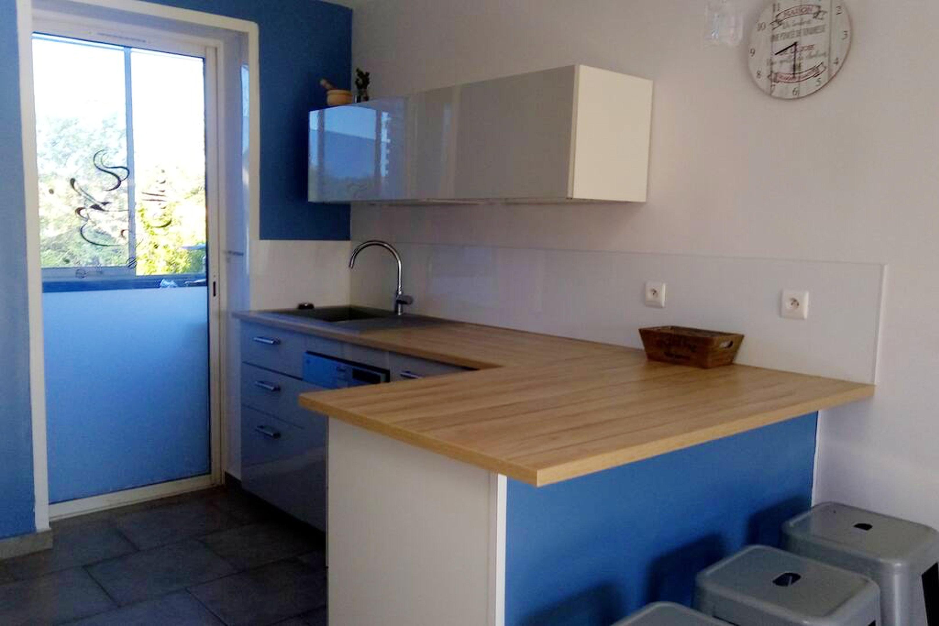 Holiday apartment Wohnung mit 2 Schlafzimmern in Le Pradet mit toller Aussicht auf die Berge, möbliertem Bal (2676516), Le Pradet, Côte d'Azur, Provence - Alps - Côte d'Azur, France, picture 2