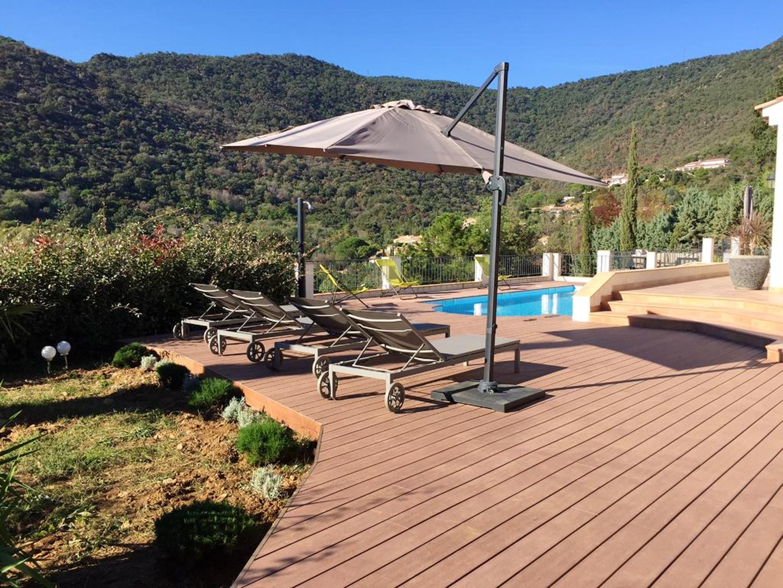Maison de vacances Villa mit 5 Schlafzimmern in Rayol-Canadel-sur-Mer mit toller Aussicht auf die Berge, priv (2201555), Le Lavandou, Côte d'Azur, Provence - Alpes - Côte d'Azur, France, image 11