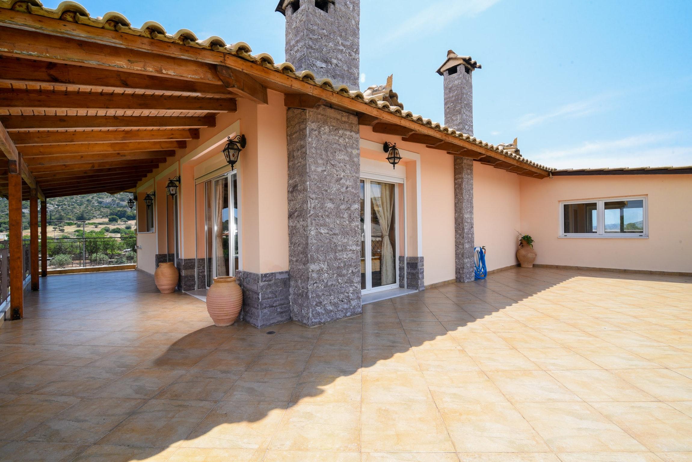 Holiday house Villa mit 5 Schlafzimmern in Kitsi mit privatem Pool, eingezäuntem Garten und W-LAN (2339398), Koropion, , Attica, Greece, picture 27