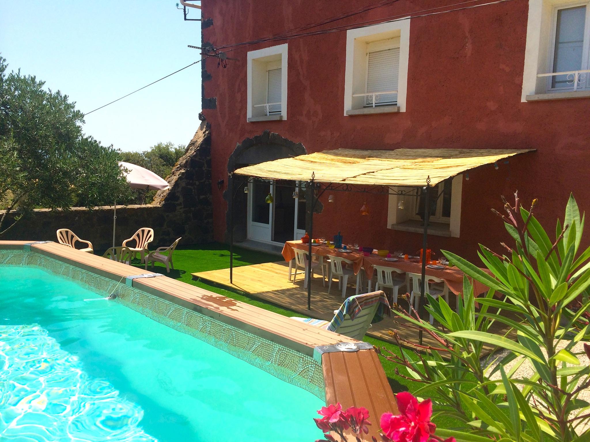 Ferienhaus Bauernhaus in der Languedoc-Roussillon mit Pool und üppigem Garten (2201002), Portiragnes, Mittelmeerküste Hérault, Languedoc-Roussillon, Frankreich, Bild 2