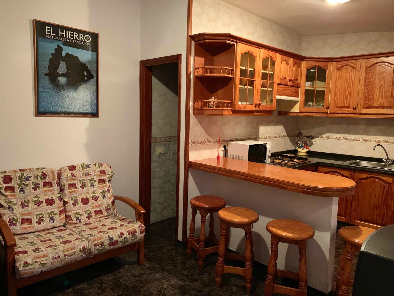 Holiday apartment Wohnung mit 3 Schlafzimmern in Frontera mit herrlichem Meerblick und möblierter Terrasse - (2691579), Tigaday, El Hierro, Canary Islands, Spain, picture 2