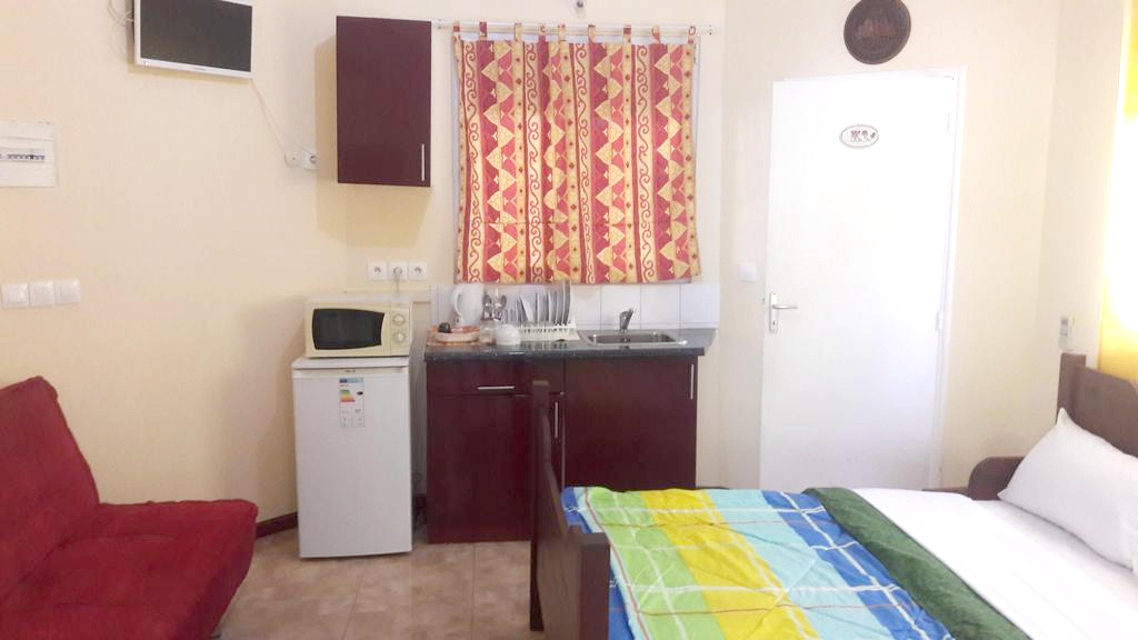 Studio in Le Gosier mit Pool und möblierter T Ferienwohnung in Guadeloupe