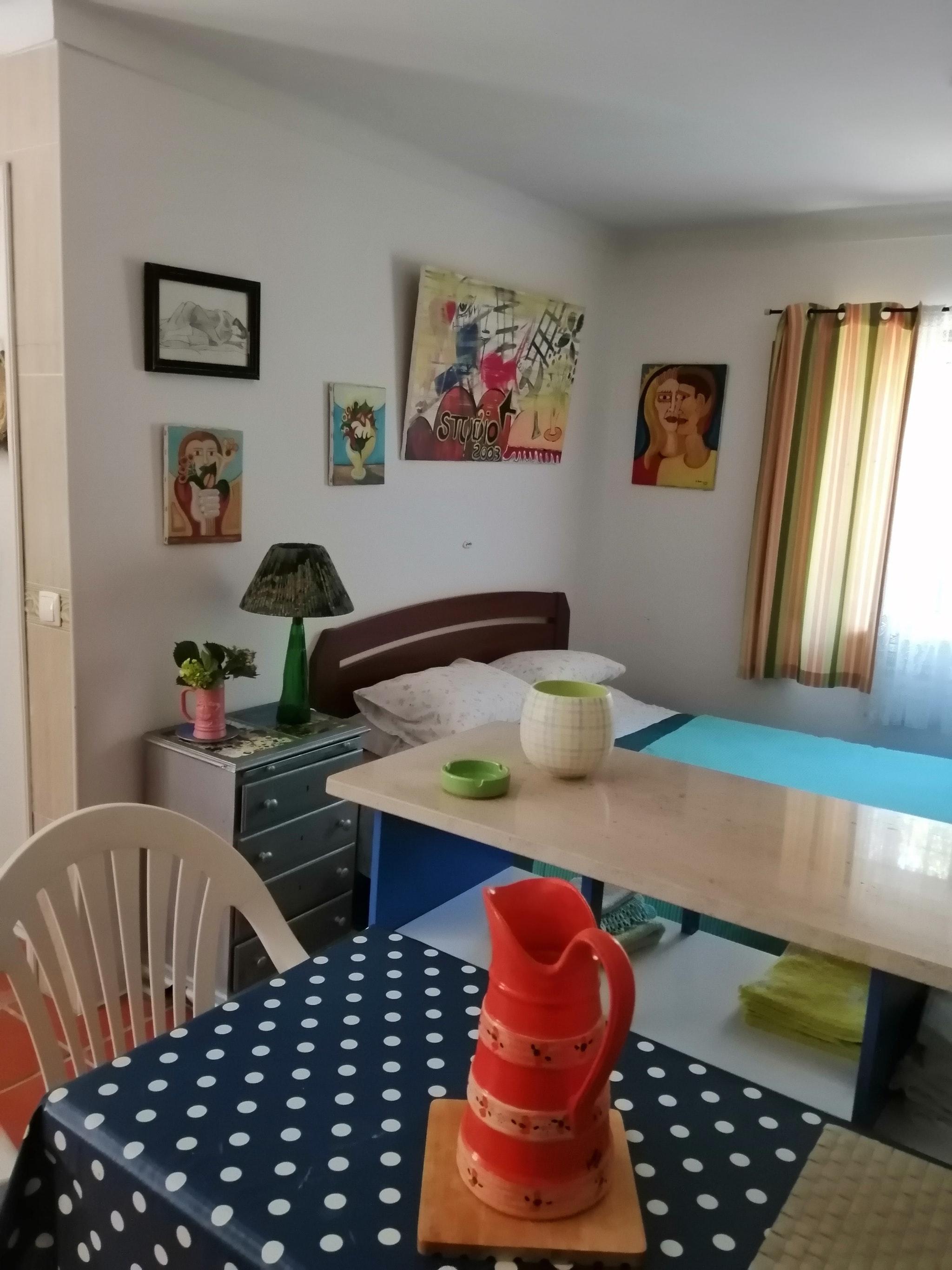 Holiday apartment Studio in Nazaré mit Pool, möbliertem Garten und W-LAN - 7 km vom Strand entfernt (2410449), Nazaré, Costa de Prata, Central-Portugal, Portugal, picture 32