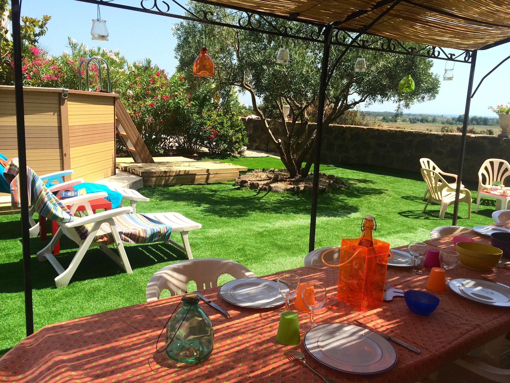 Ferienhaus Bauernhaus in der Languedoc-Roussillon mit Pool und üppigem Garten (2201002), Portiragnes, Mittelmeerküste Hérault, Languedoc-Roussillon, Frankreich, Bild 25