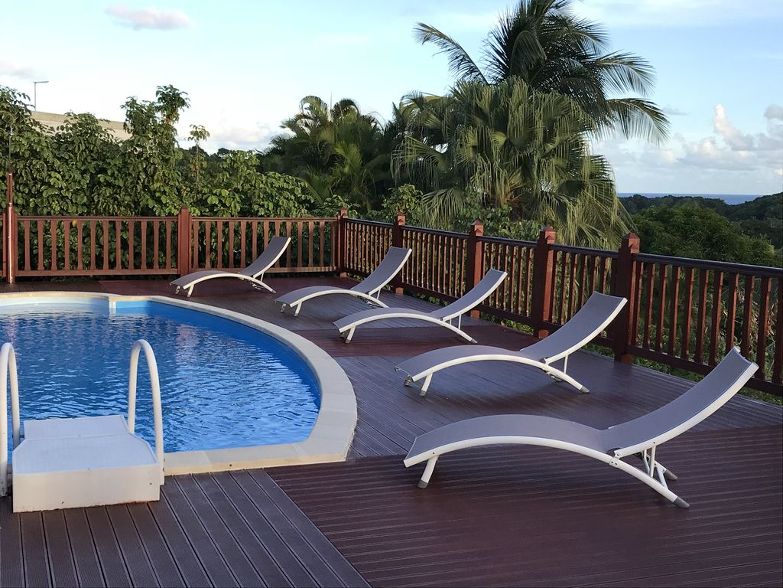 Villa mit 6 Schlafzimmern in Sainte-Anne mit herrl Villa in Guadeloupe
