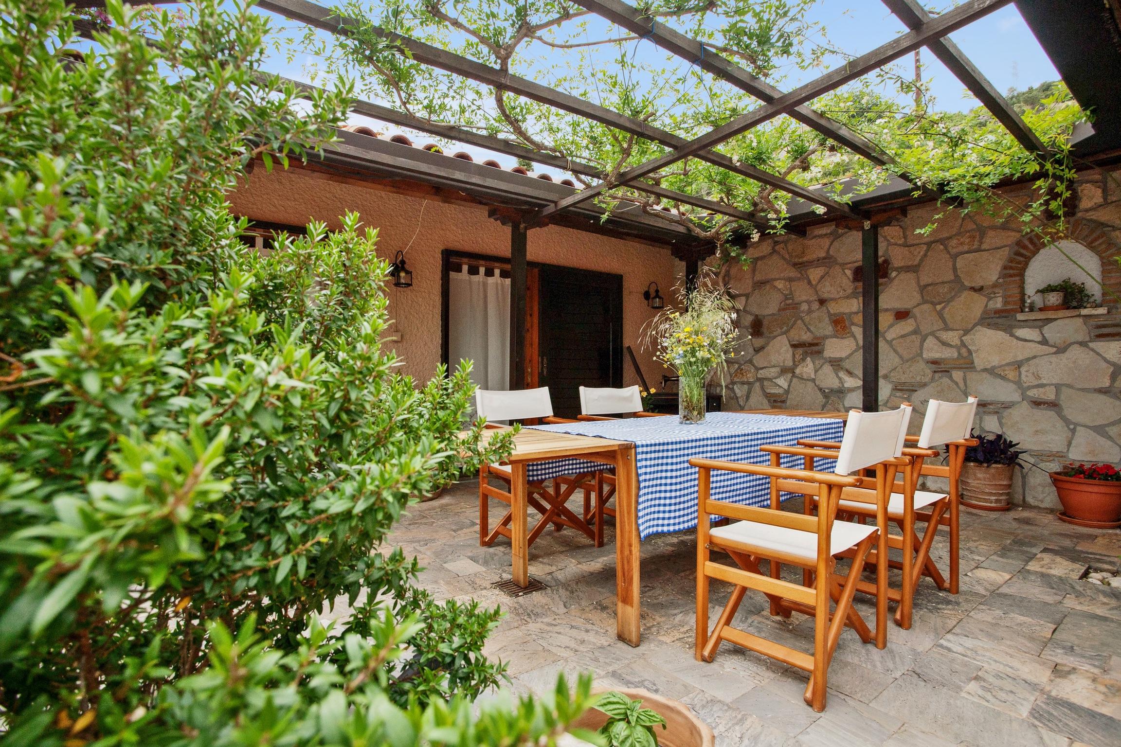 Ferienhaus Villa mit 6 Zimmern in Xiropigado mit herrlichem Meerblick, eingezäuntem Garten und W-LAN  (2201333), Xiropigado, , Peloponnes, Griechenland, Bild 30