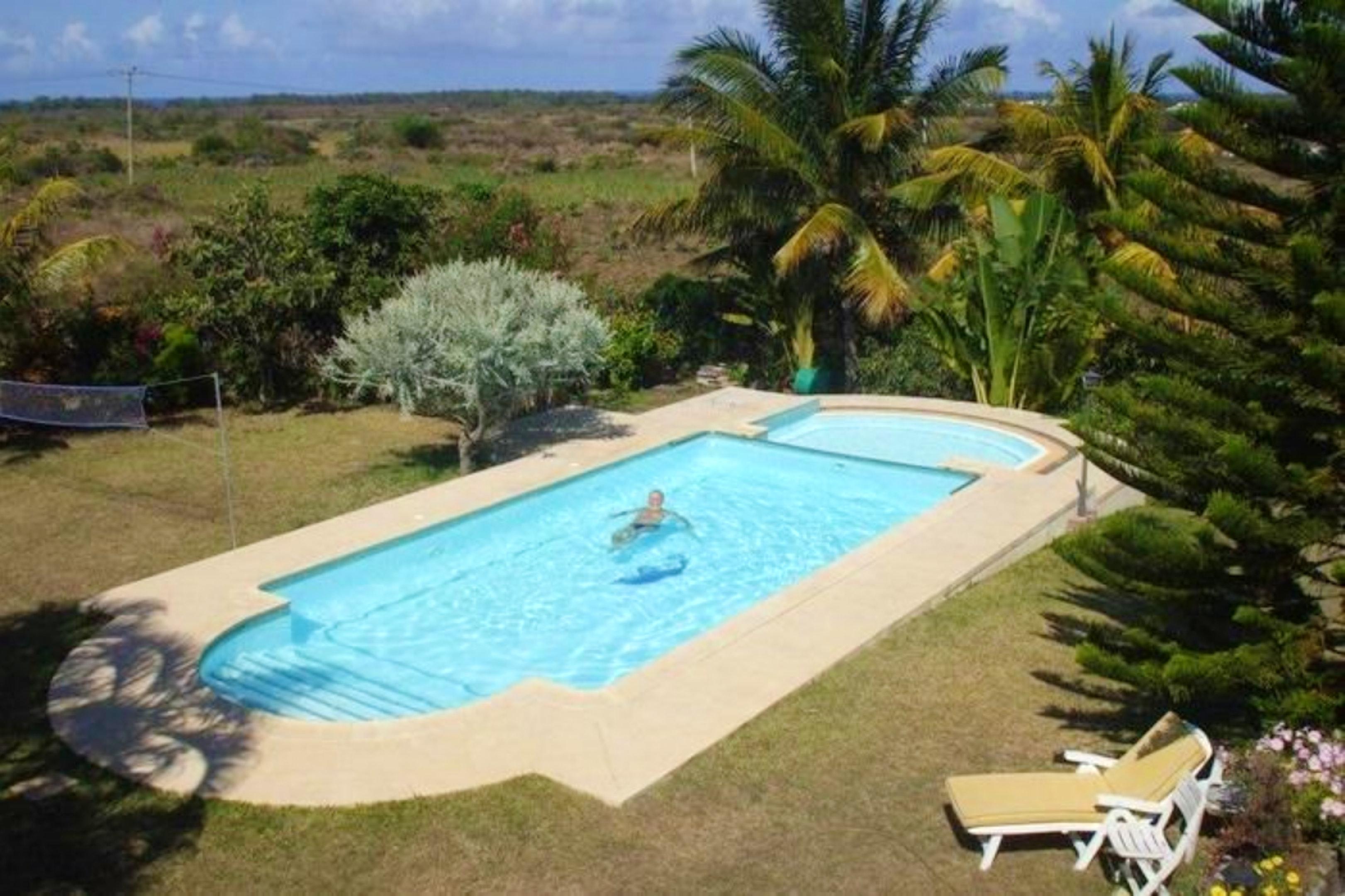 Villa mit 7 Schlafzimmern in Trou D'Eau Douce Villa in Afrika
