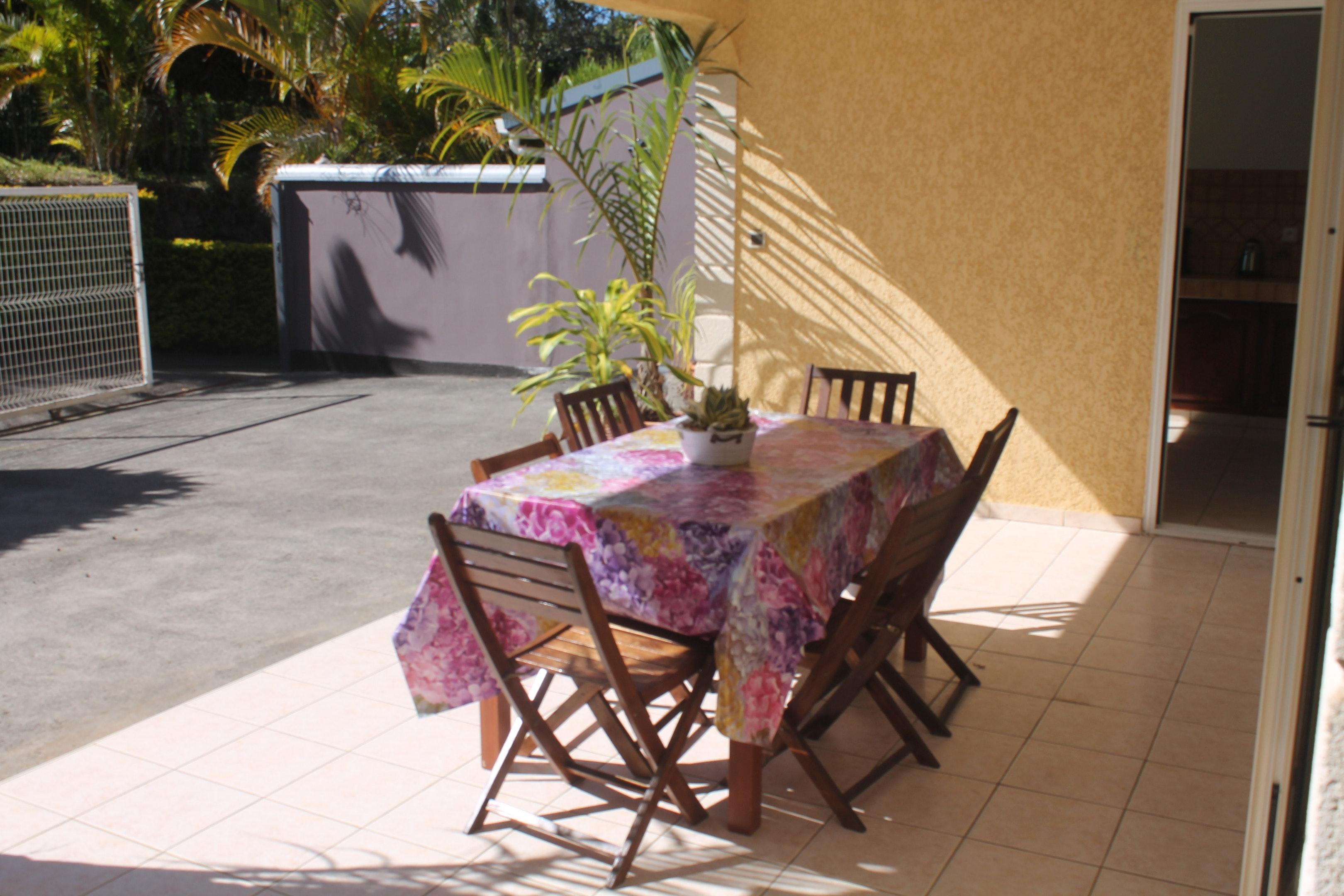 Haus mit 3 Schlafzimmern in Tampon mit toller Auss Ferienhaus in Reunion