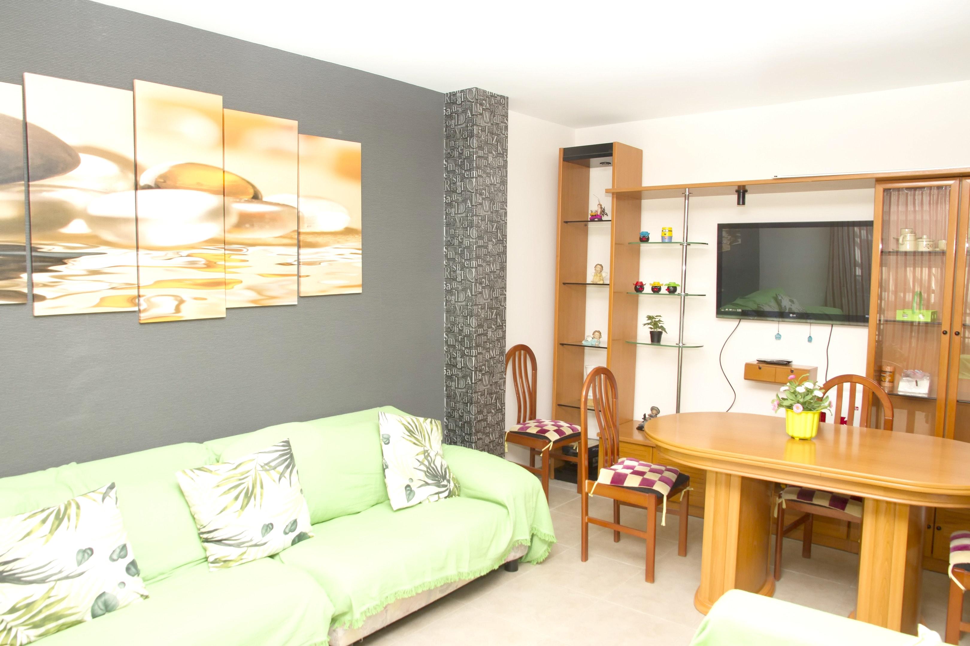 Wohnung mit 3 Schlafzimmern in Garrucha mit herrli Ferienwohnung  Costa de Almeria