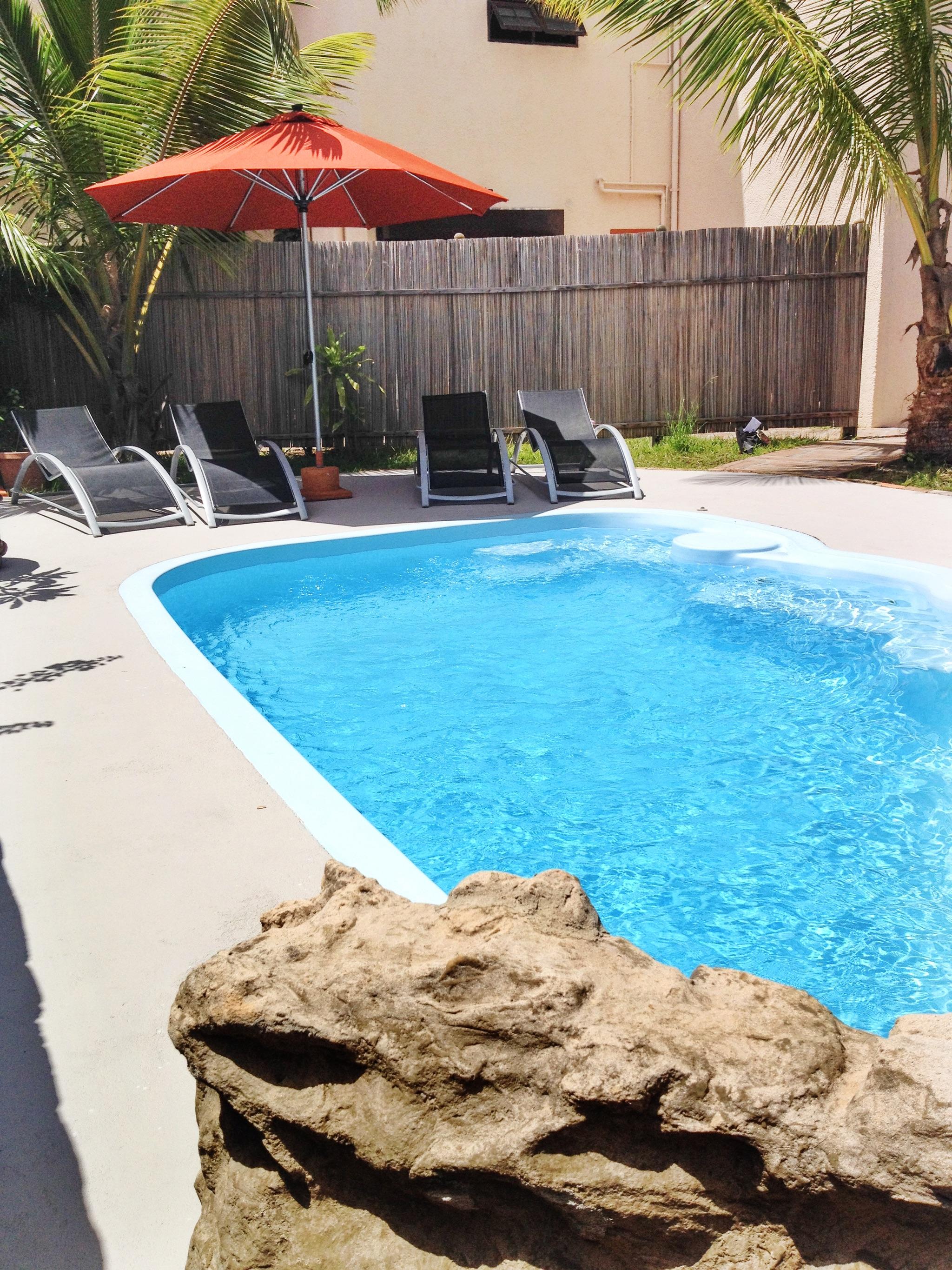 In Mauritius - Moderne Wohnung mit Pool und Jacuzz Ferienwohnung in Afrika
